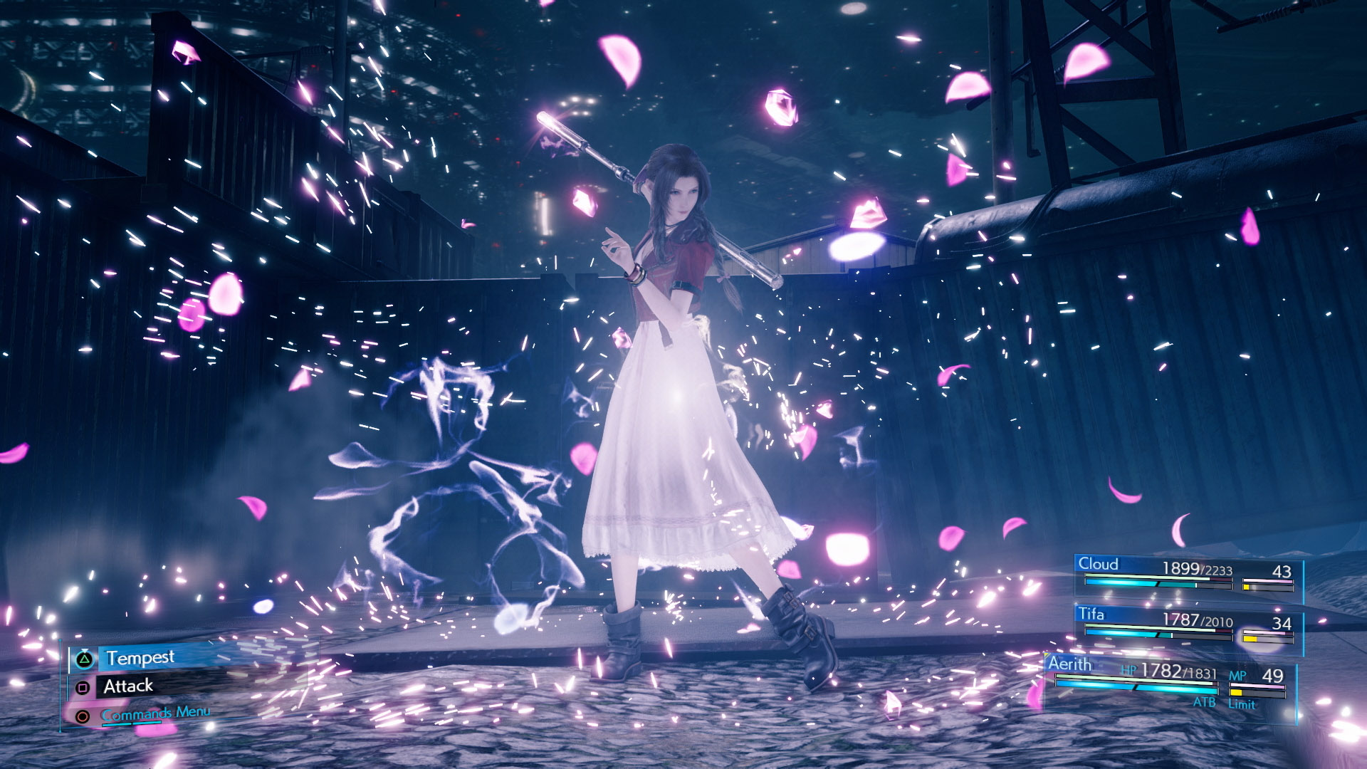 Final Fantasy 7 Remake Aerith Tempest