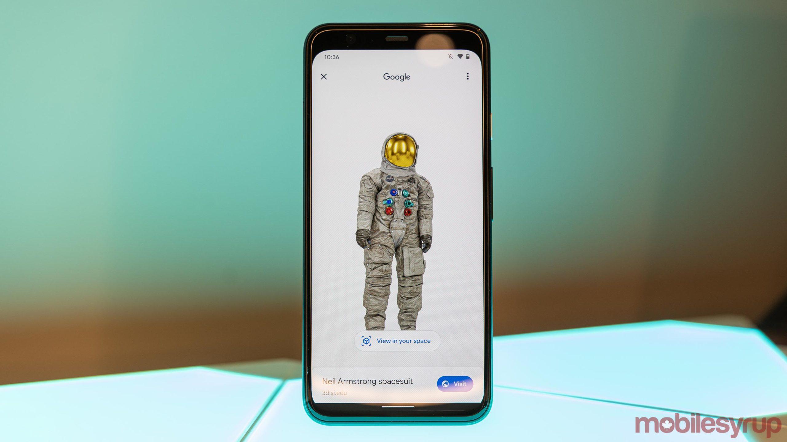 Google AR Search
