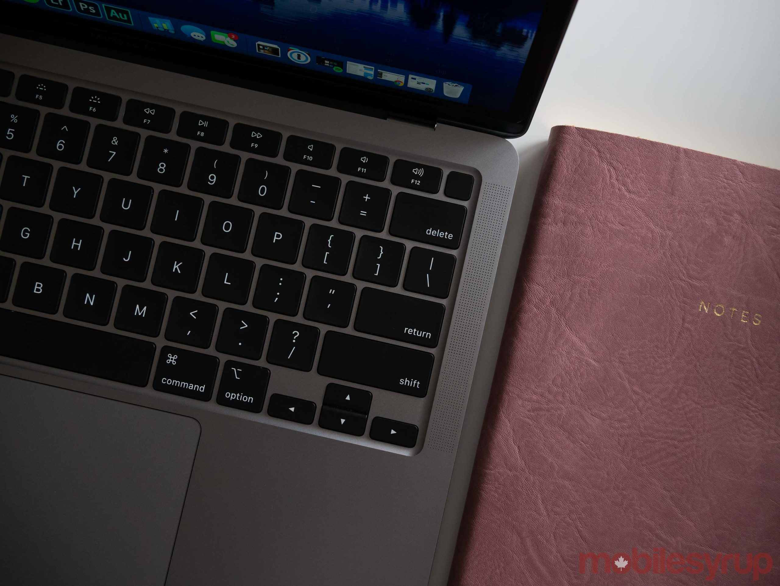 MacBook Air (2020) keyboard