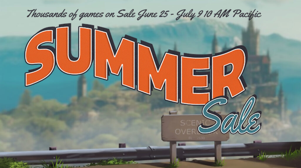 Steam's 2020 Summer Sale is cutting prices until July 9th