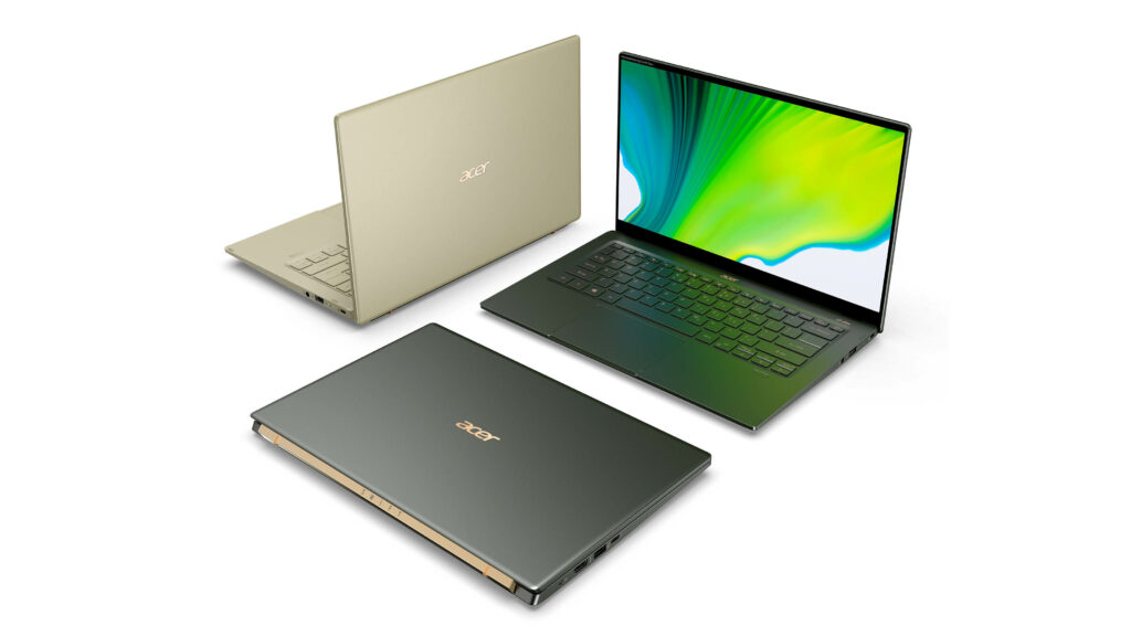 Acer unveils new Swift 5, Chromebook Spin and Helios gaming machines