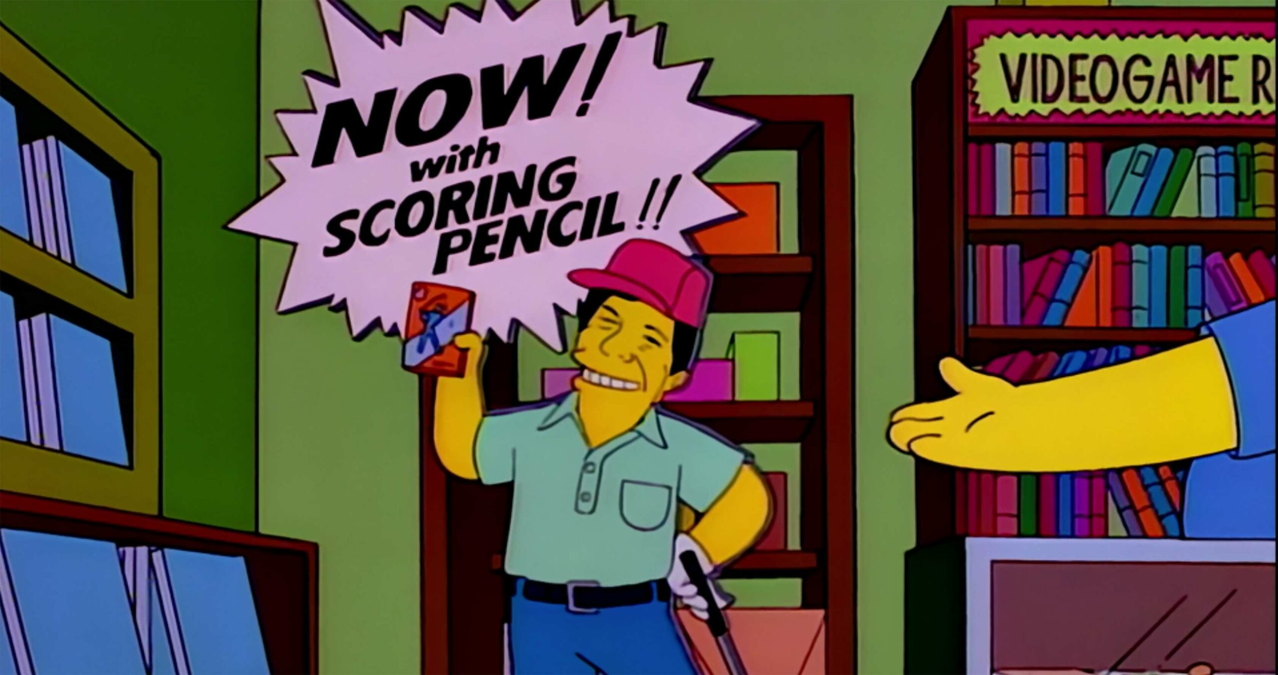 The Simpsons Lee Carvallo's Putting Challenge