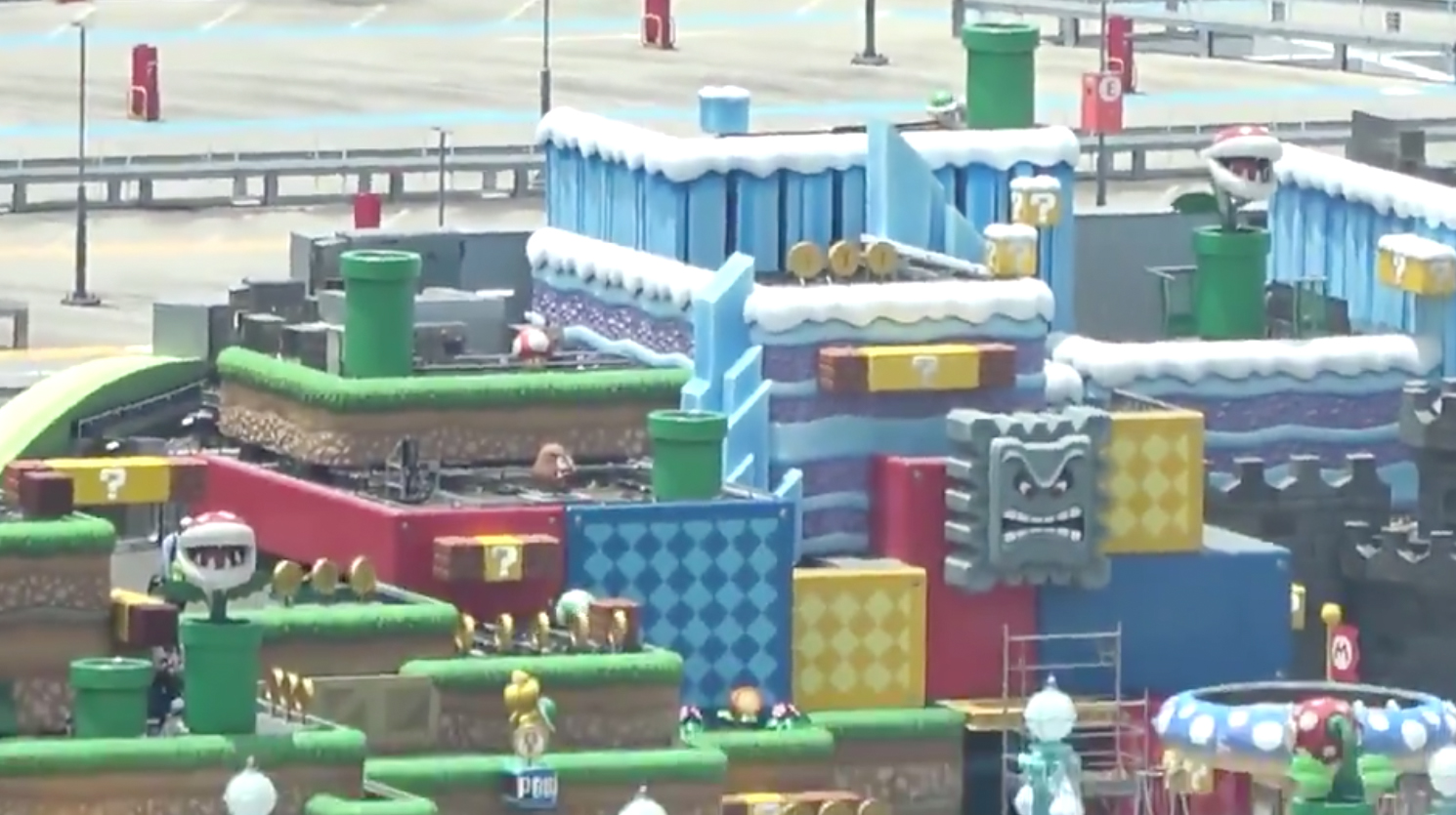 Super Nintendo World Gets Unofficial Video Sneak Preview Amid Covid 19 Delays