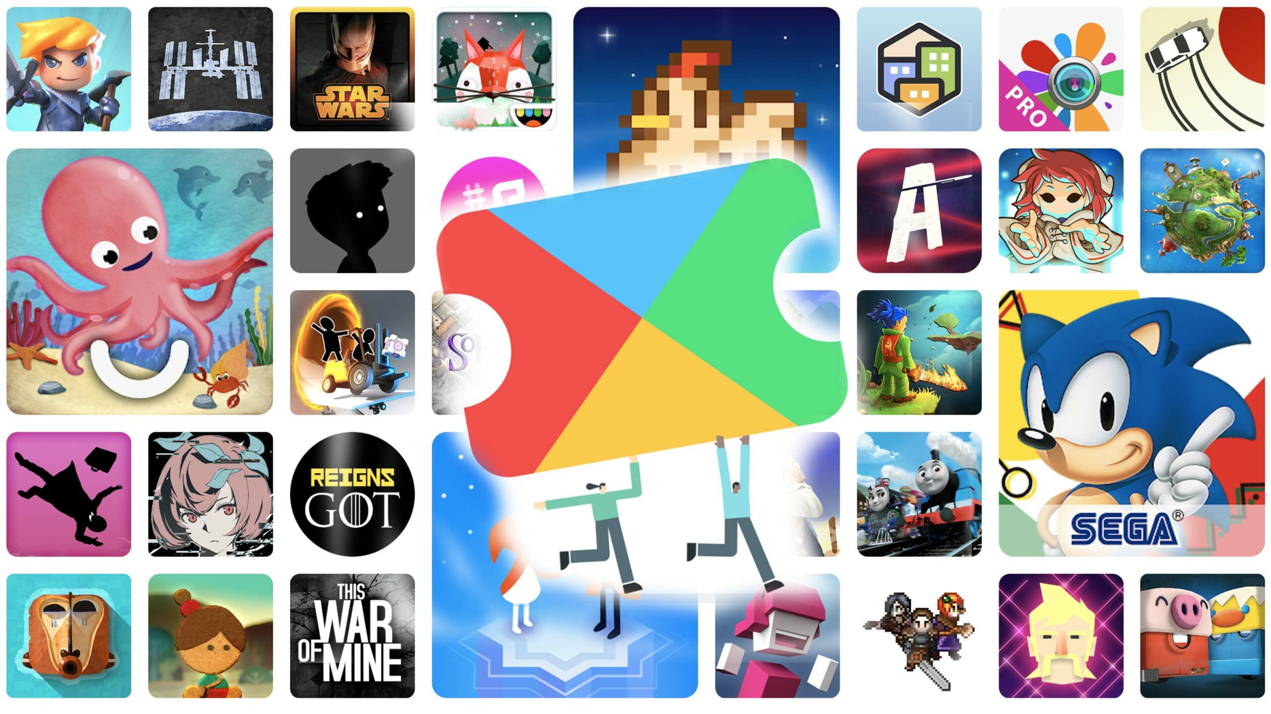New games and apps added to Google Play Pass