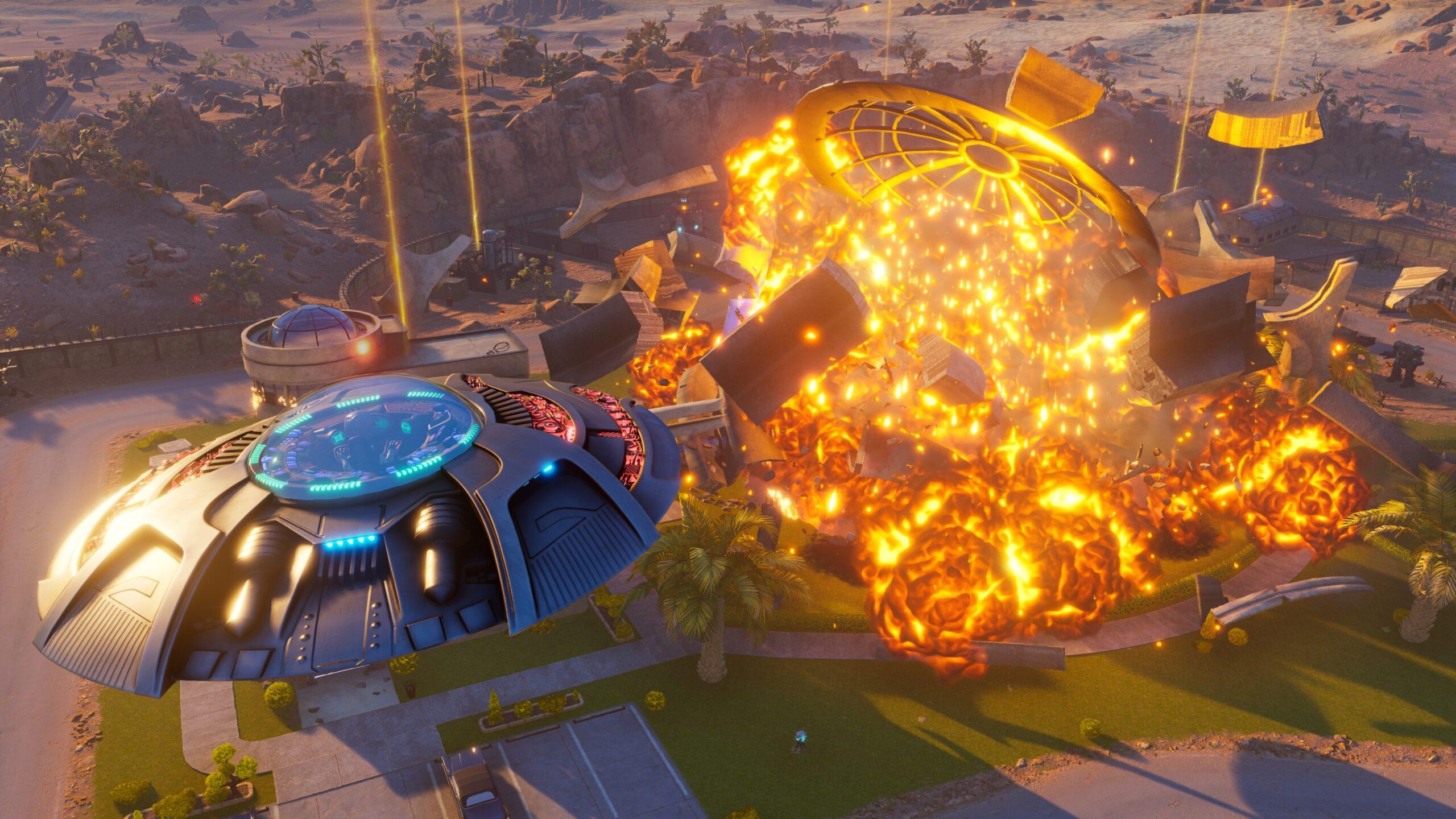 Destroy All Humans! saucer