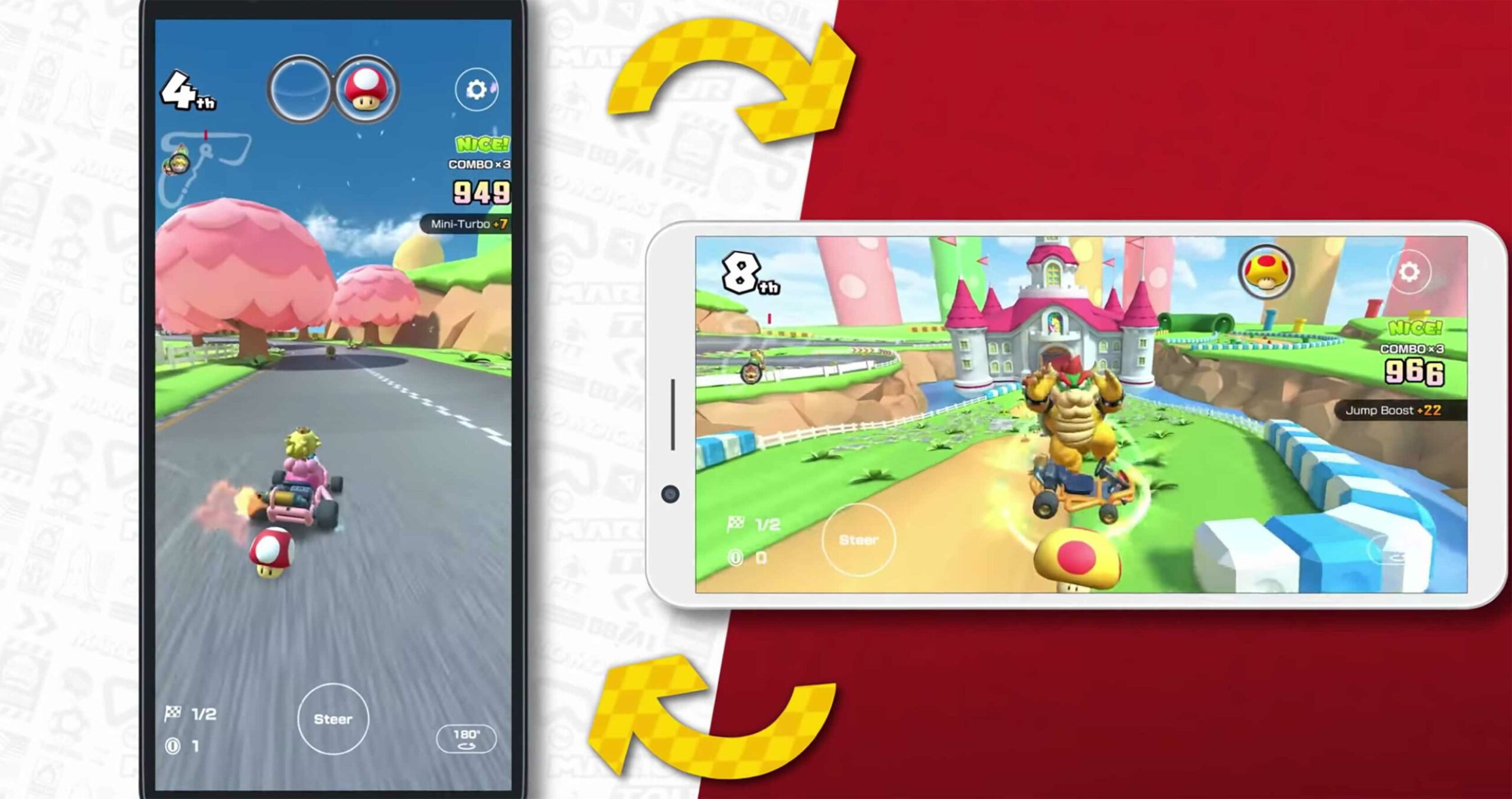 Nintendo To Add Landscape Mode To Mario Kart Tour On Android And Ios