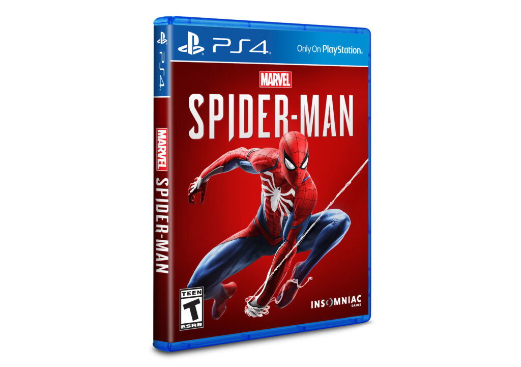 Marvel's Spider-Man PS4 box art