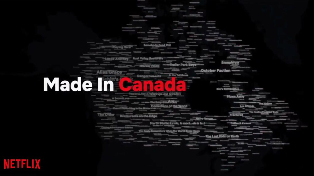 Netflix Canada highlighting Canadian content for Canada Day