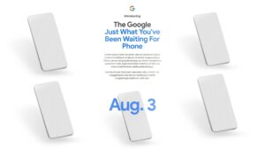 Google shares August 3 reveal date for Pixel 4a