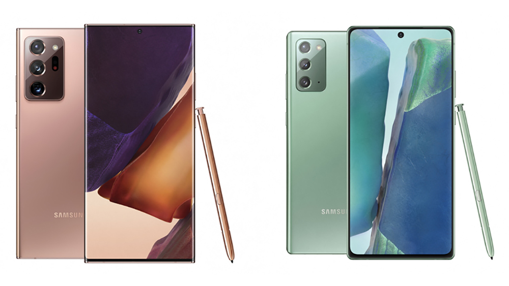 Samsung officially reveals Galaxy Note 20 and Note 20 Ultra