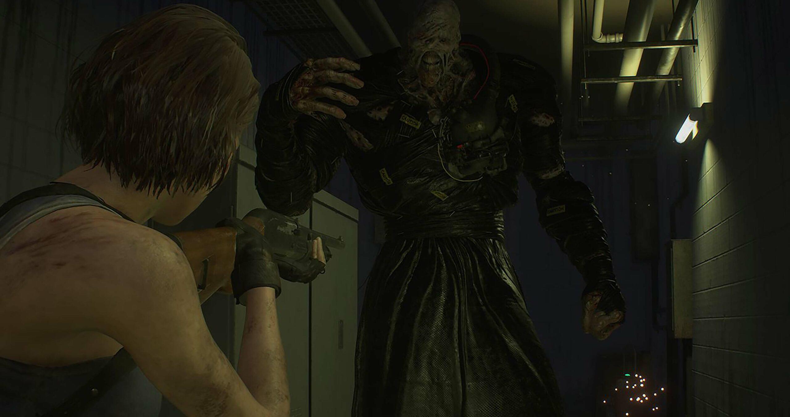 Resident Evil 3 Jill v Nemesis