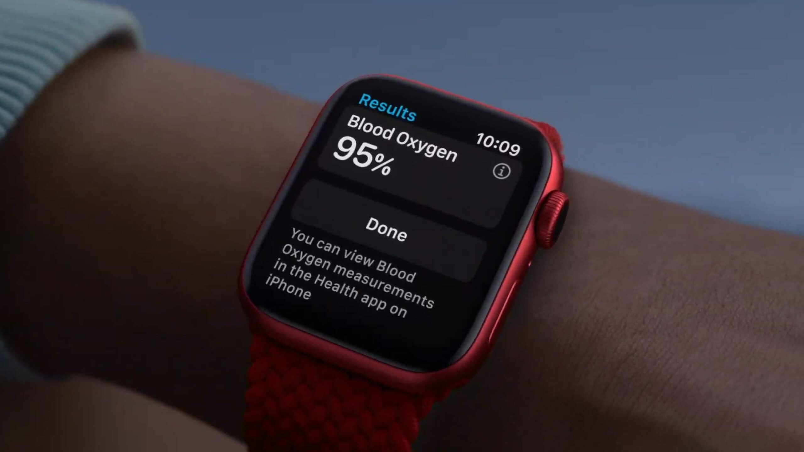 Apple announces Apple Watch Series 6 with blood oxygen level detection