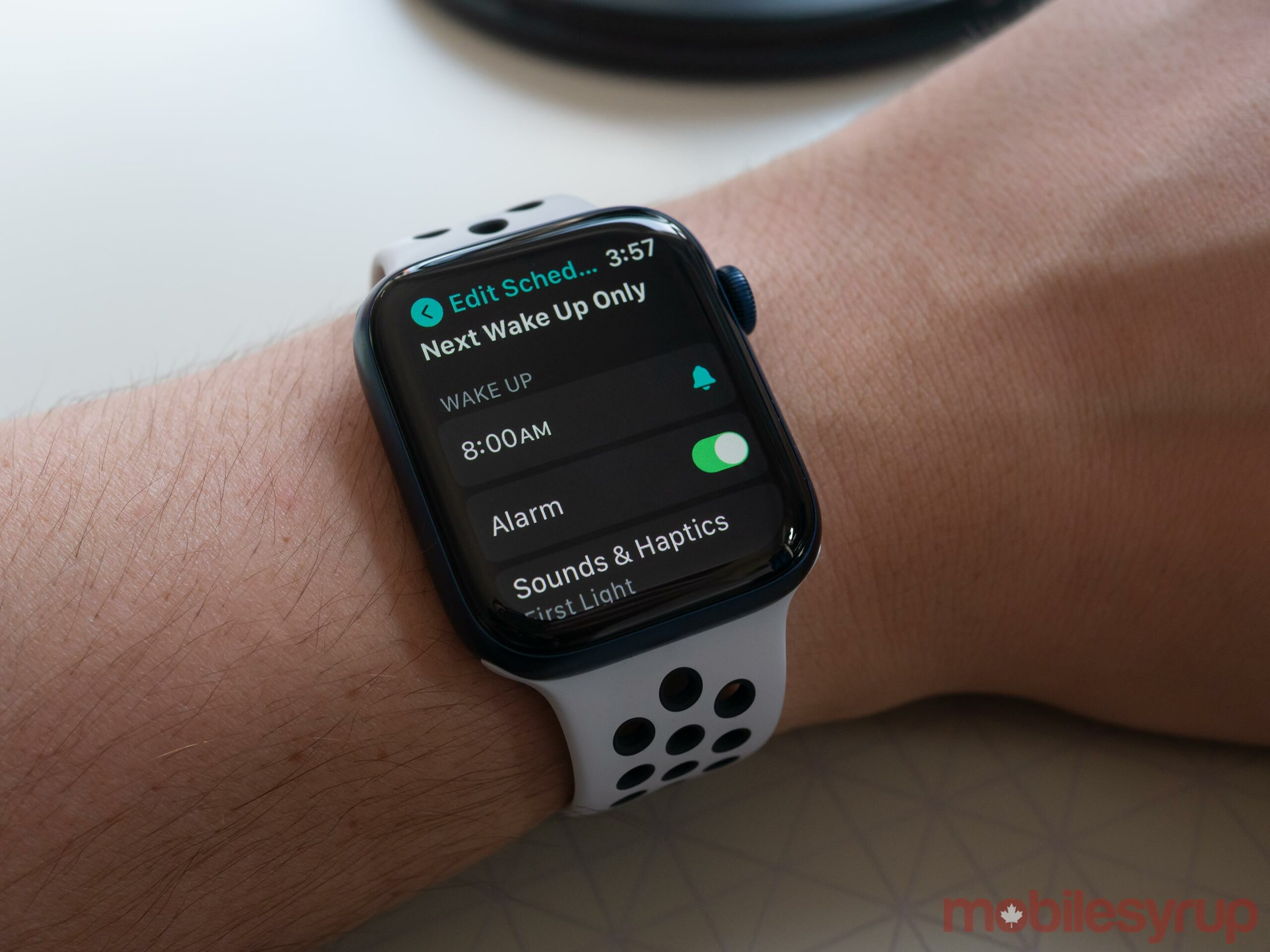 Apple Watch Series 6 Sleep app