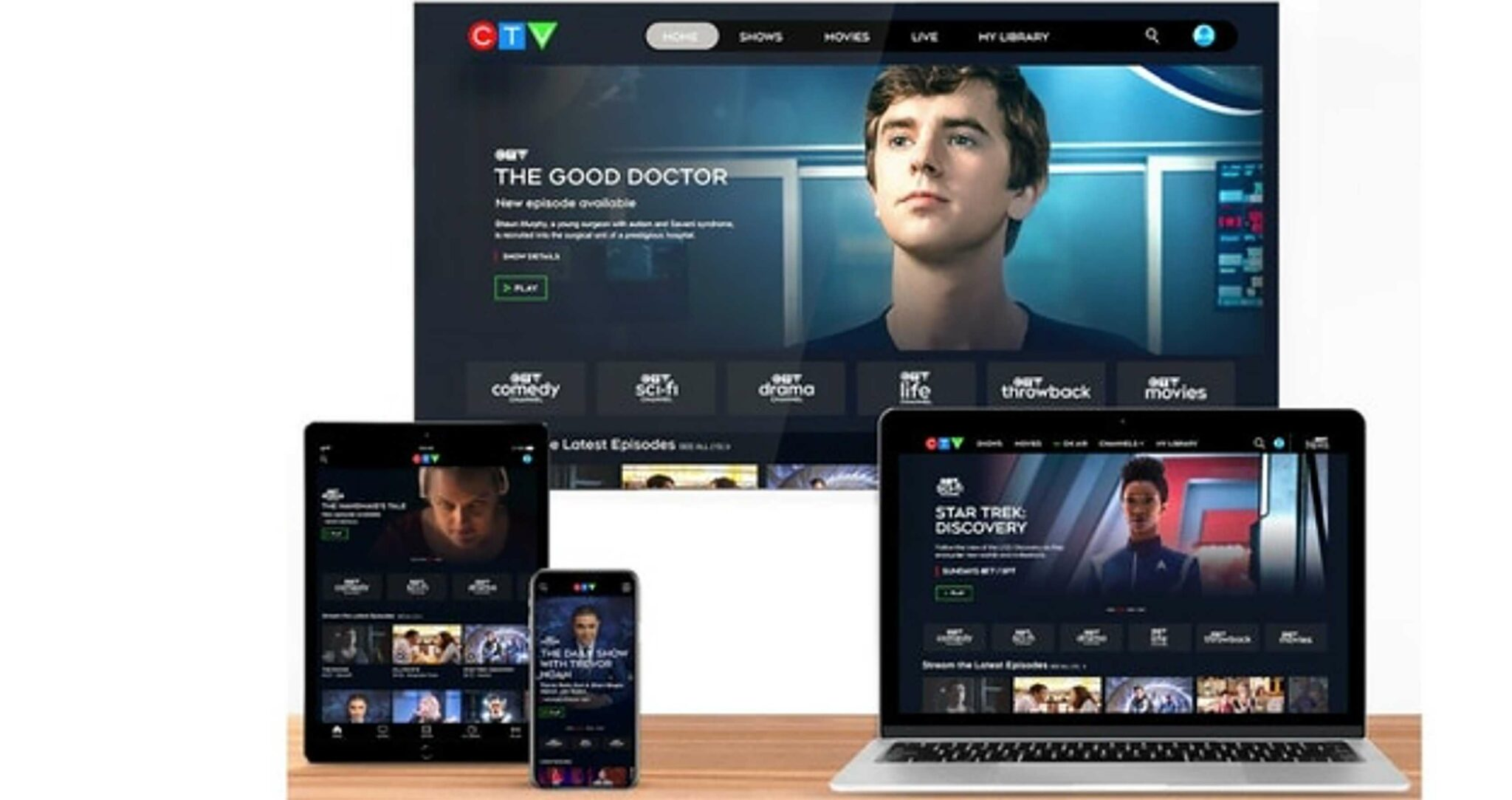 Bell launches all-in-one digital platform for CTV content