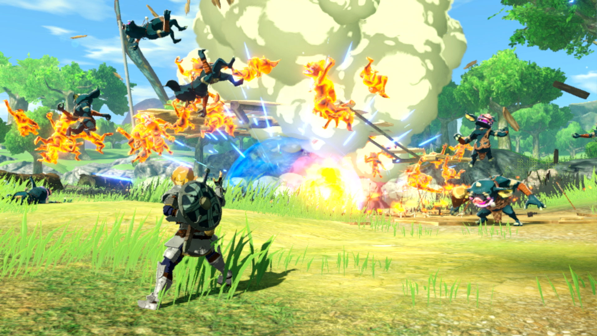 Nintendo S Hyrule Warriors Age Of Calamity Is A Prequel To Zelda Breath Of The Wild
