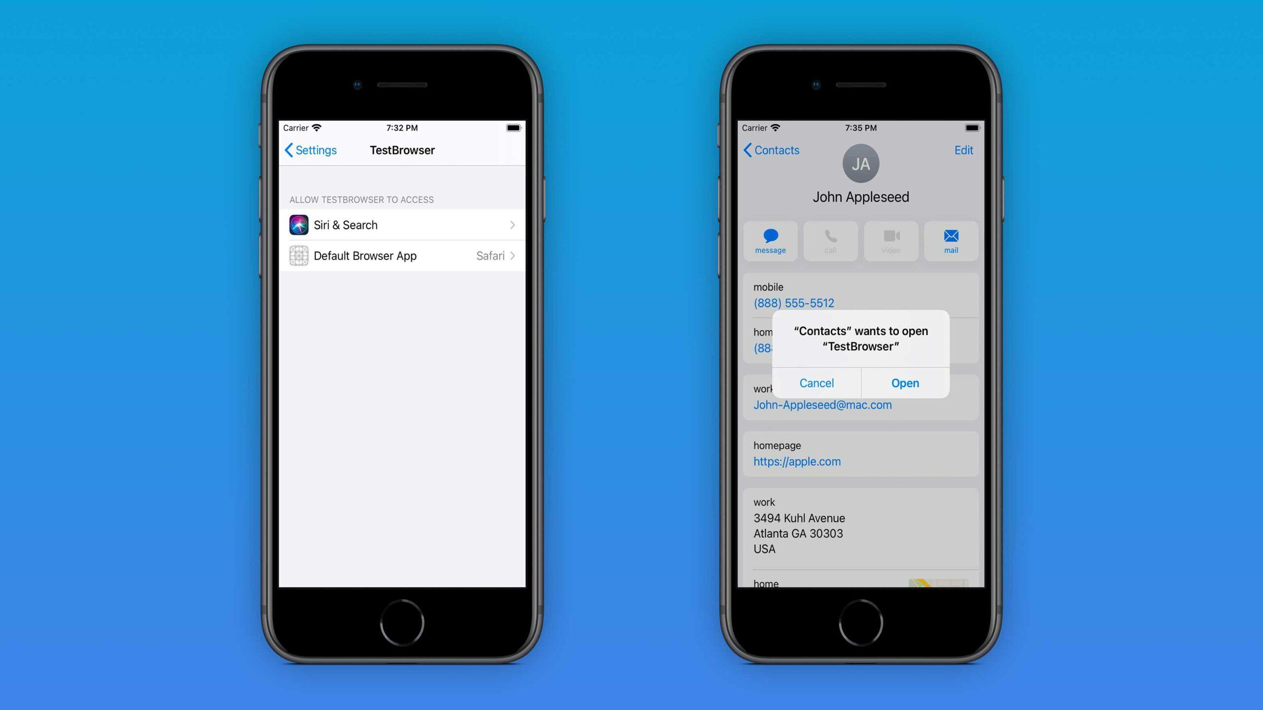 iOS 14 mail app