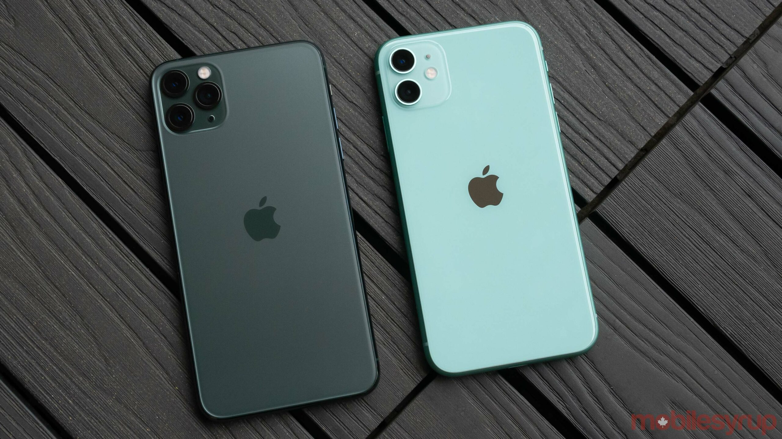 iPhone 11 and iPhone 11 Pro