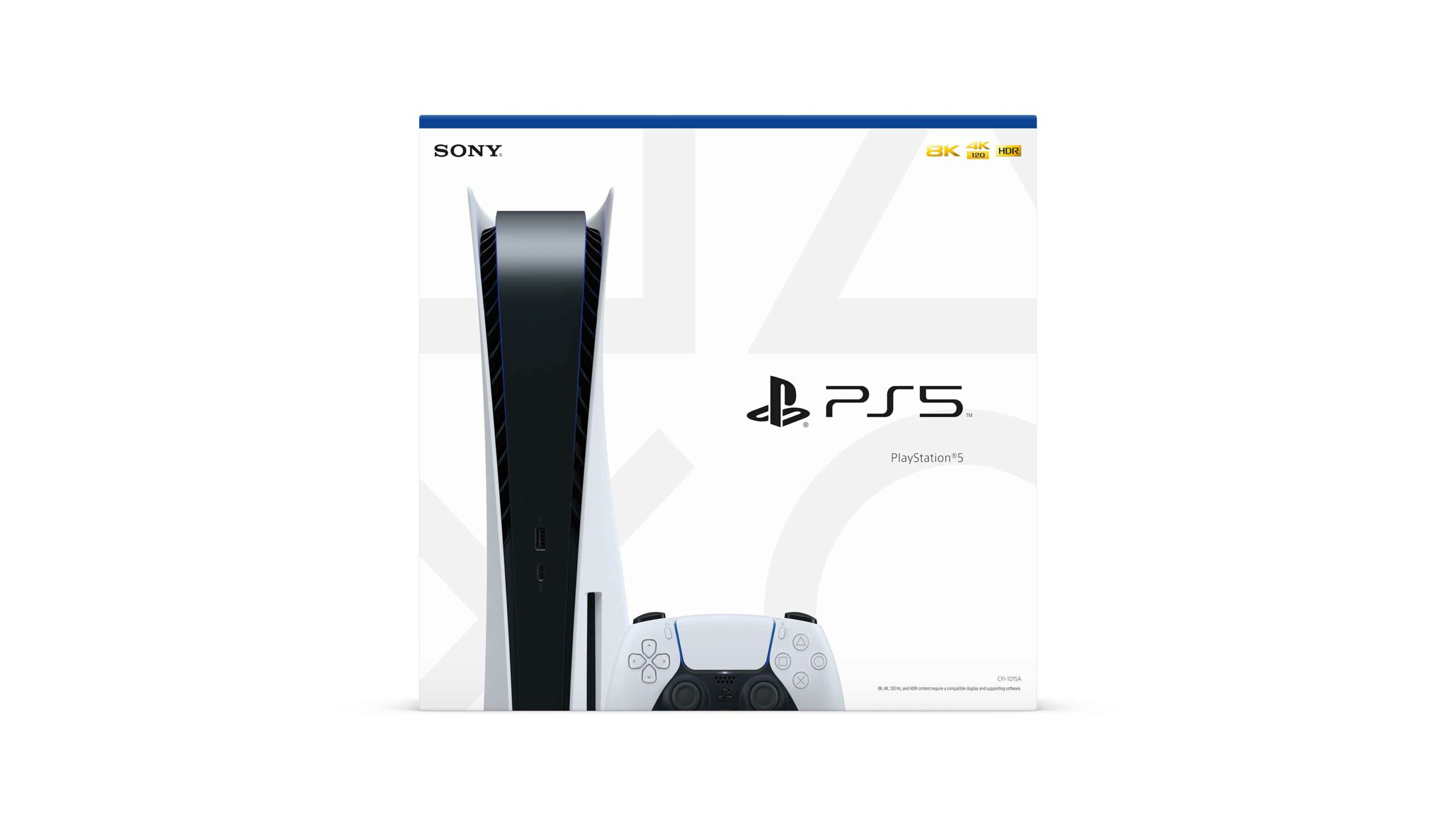 PS5 box
