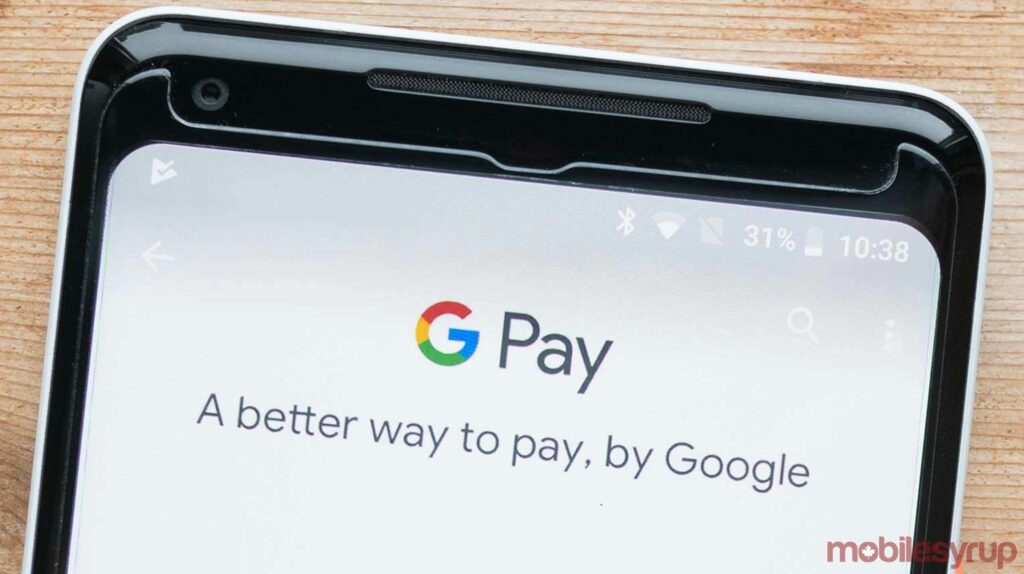 Google Pay is currently not working for some users