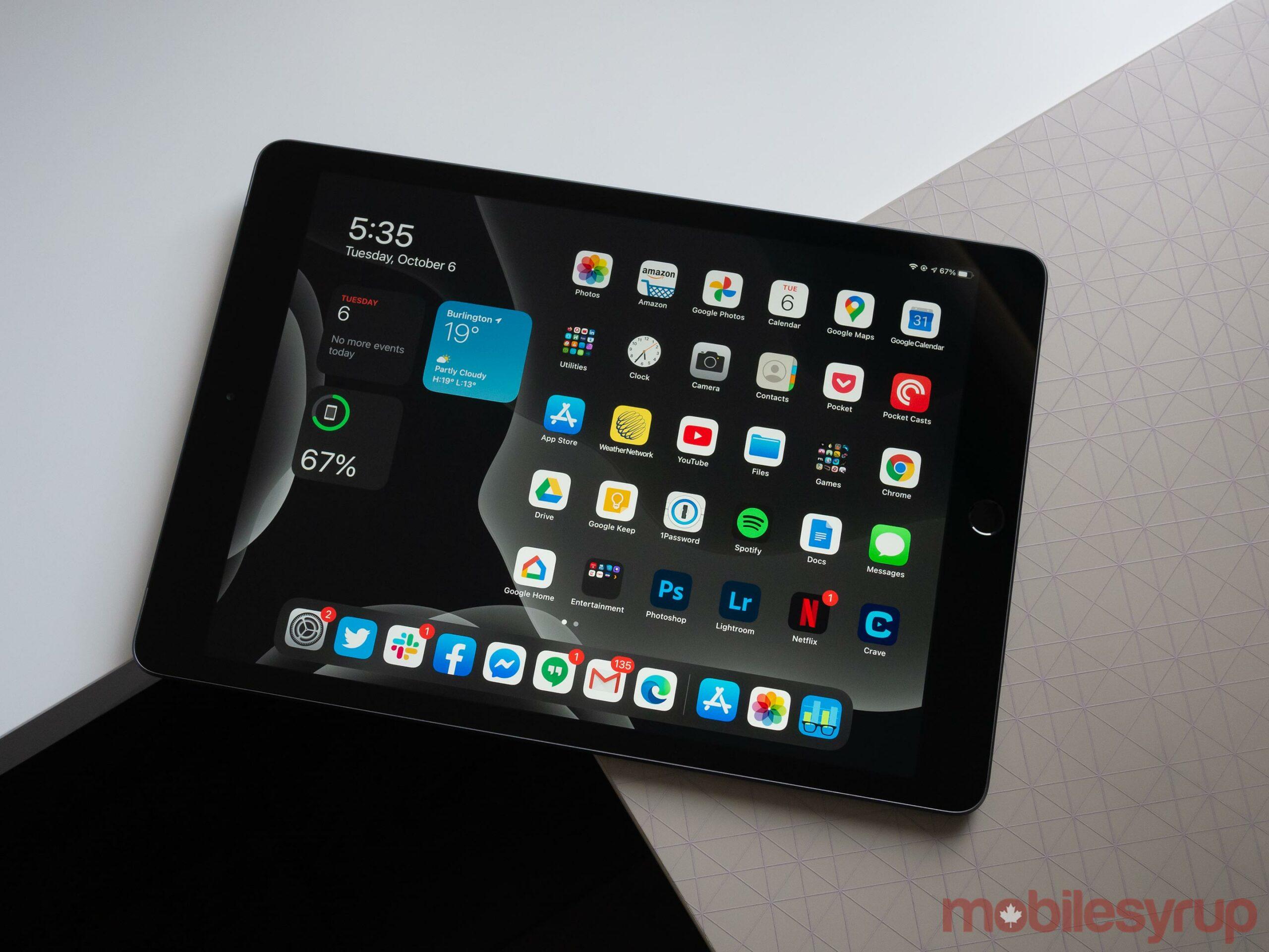 iPad (2020) widgets