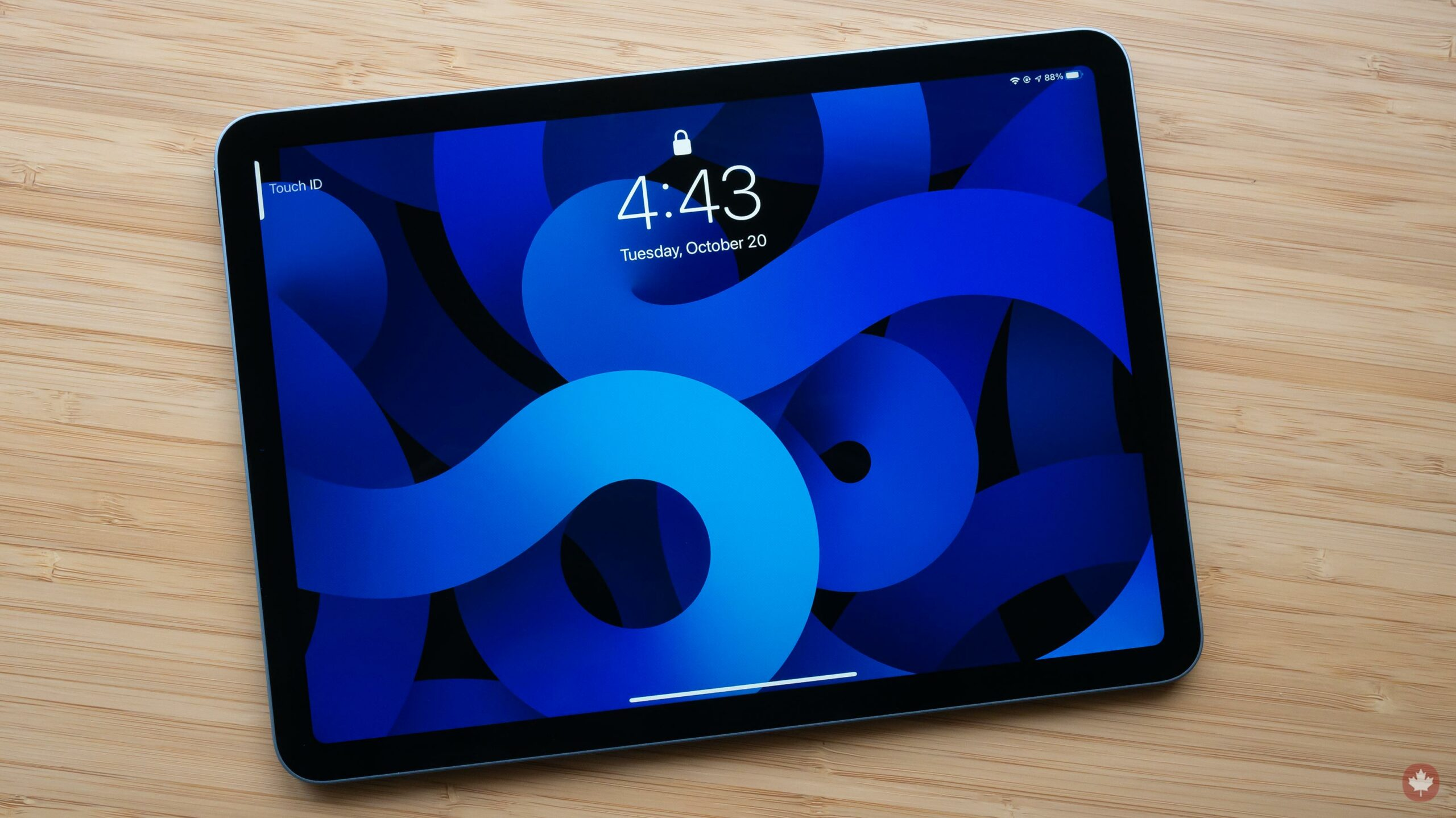 iPad Air (2020) screen