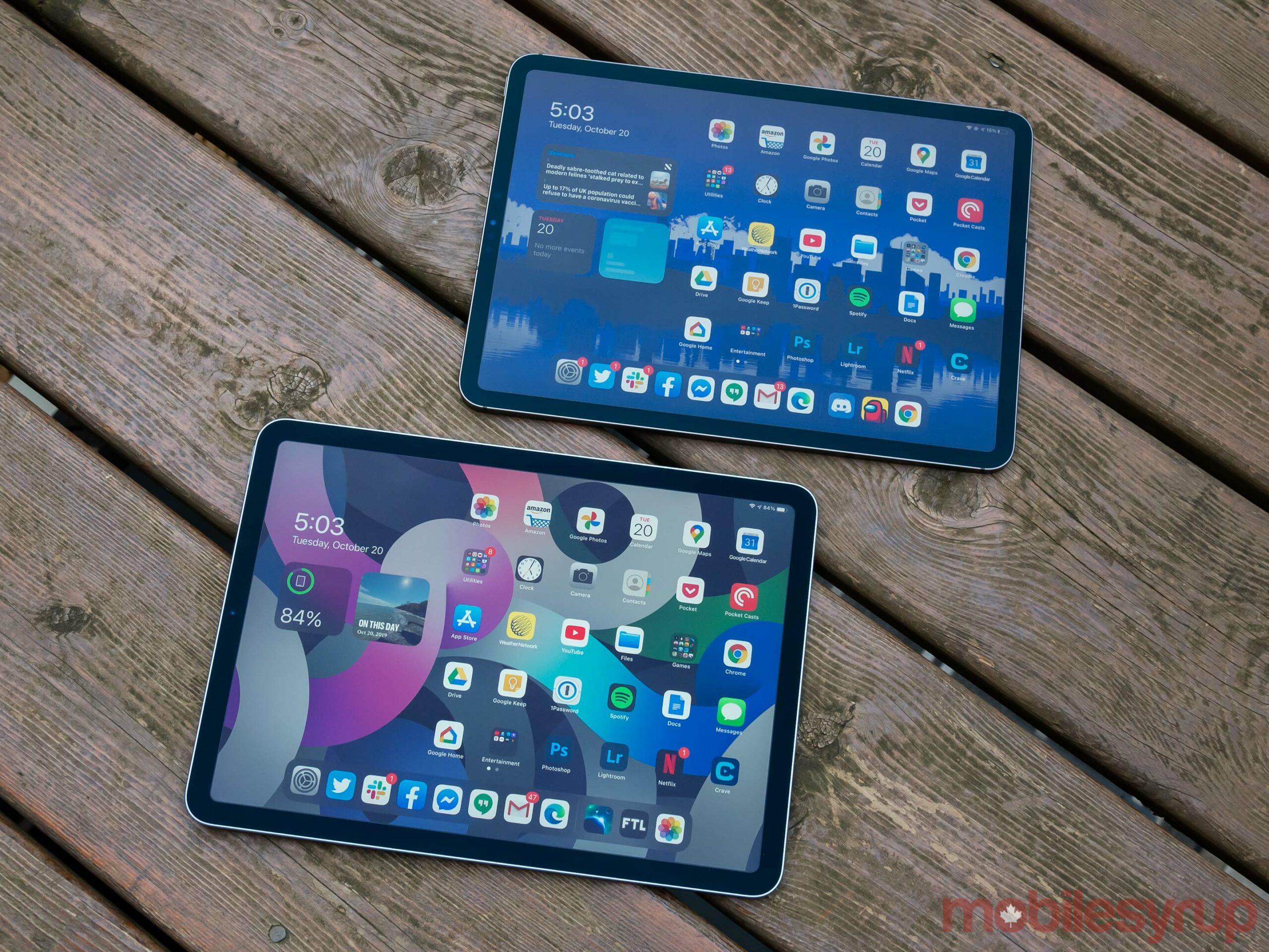 iPad Air (2020) vs iPad Pro (2020)