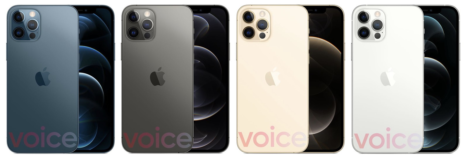 iPhone 12 Pro and iPhone 12 Pro Max leak in blue, graphite ...