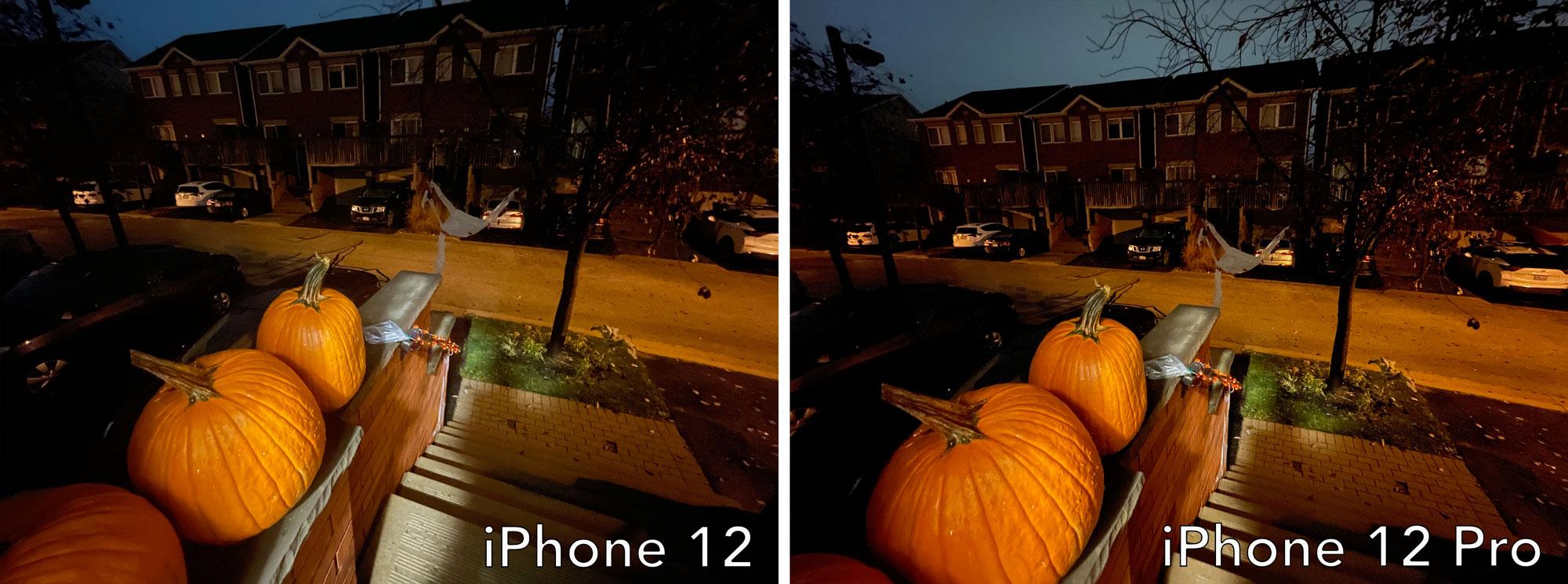 iPhone 12 ultra-wide vs iPhone 12 Pro ultra-wide