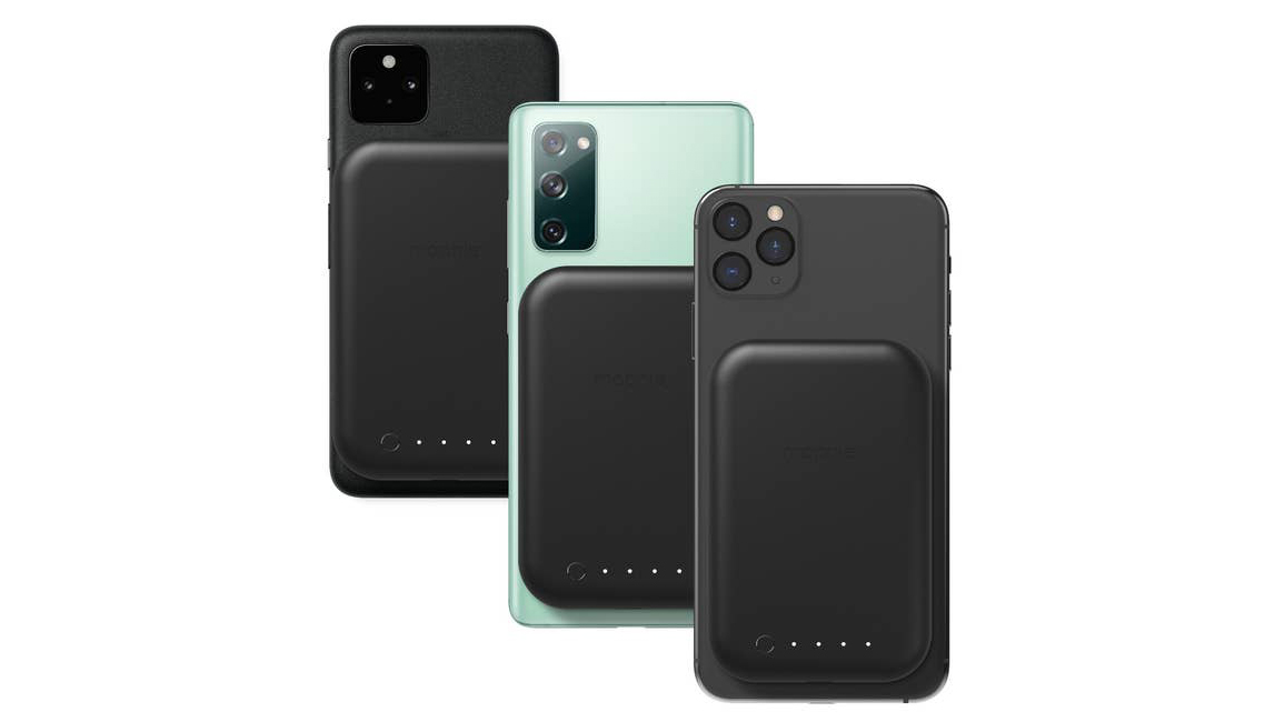 Mophie S Juice Pack Connect Clips On To The Back Of Your Smartphone 2021 new product is suitable for iphone12 official magnetic wireless charger apple 12magsafe charger magnetic wireless charger. mophie s juice pack connect clips on