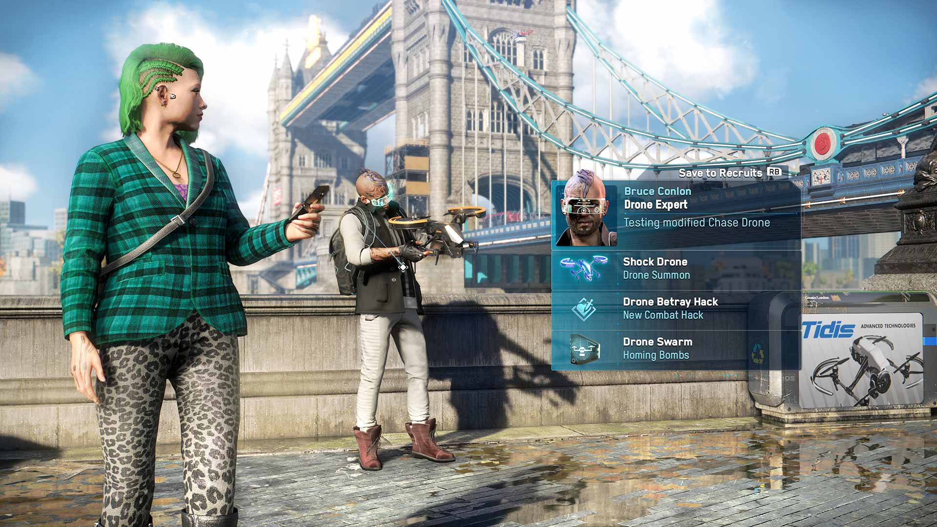 Watch Dogs: Legion character profiler