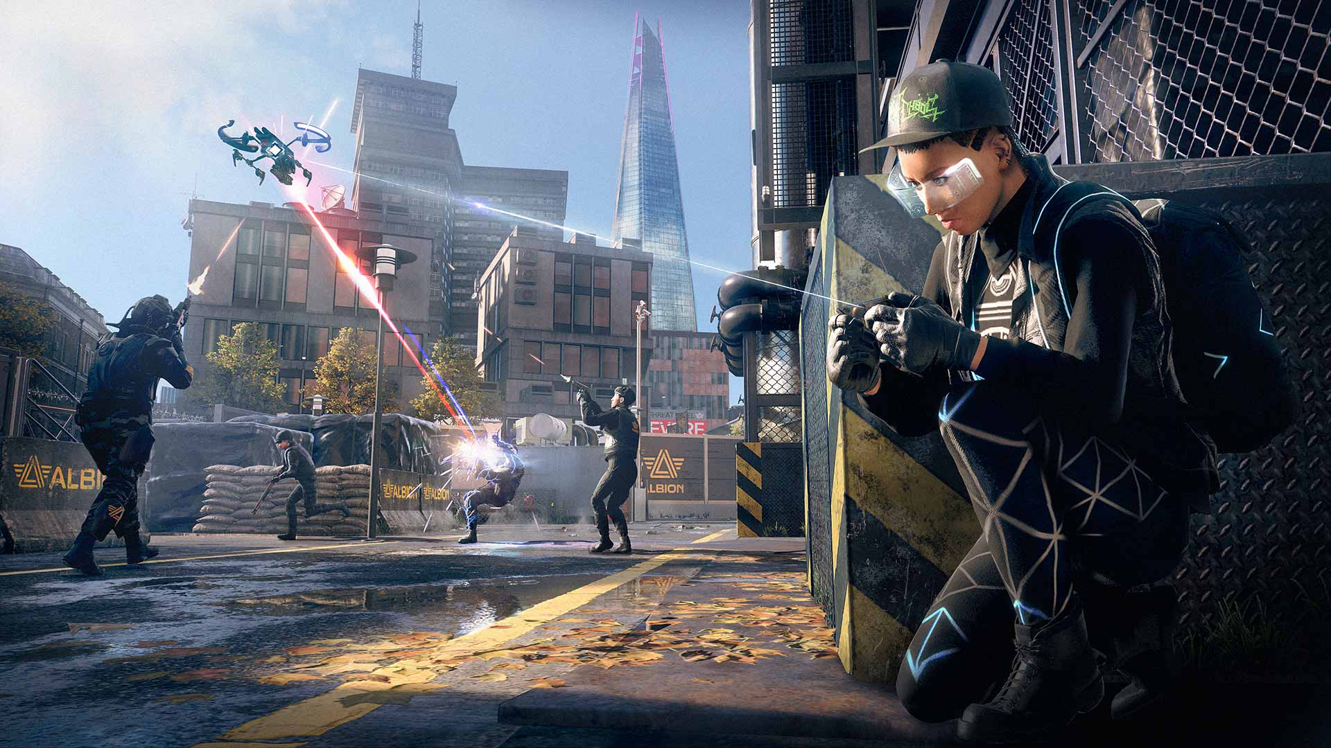 Watch Dogs: Legion drone hacking