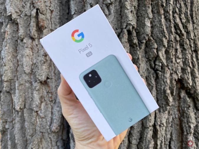 Bell Google Pixel 5 contest