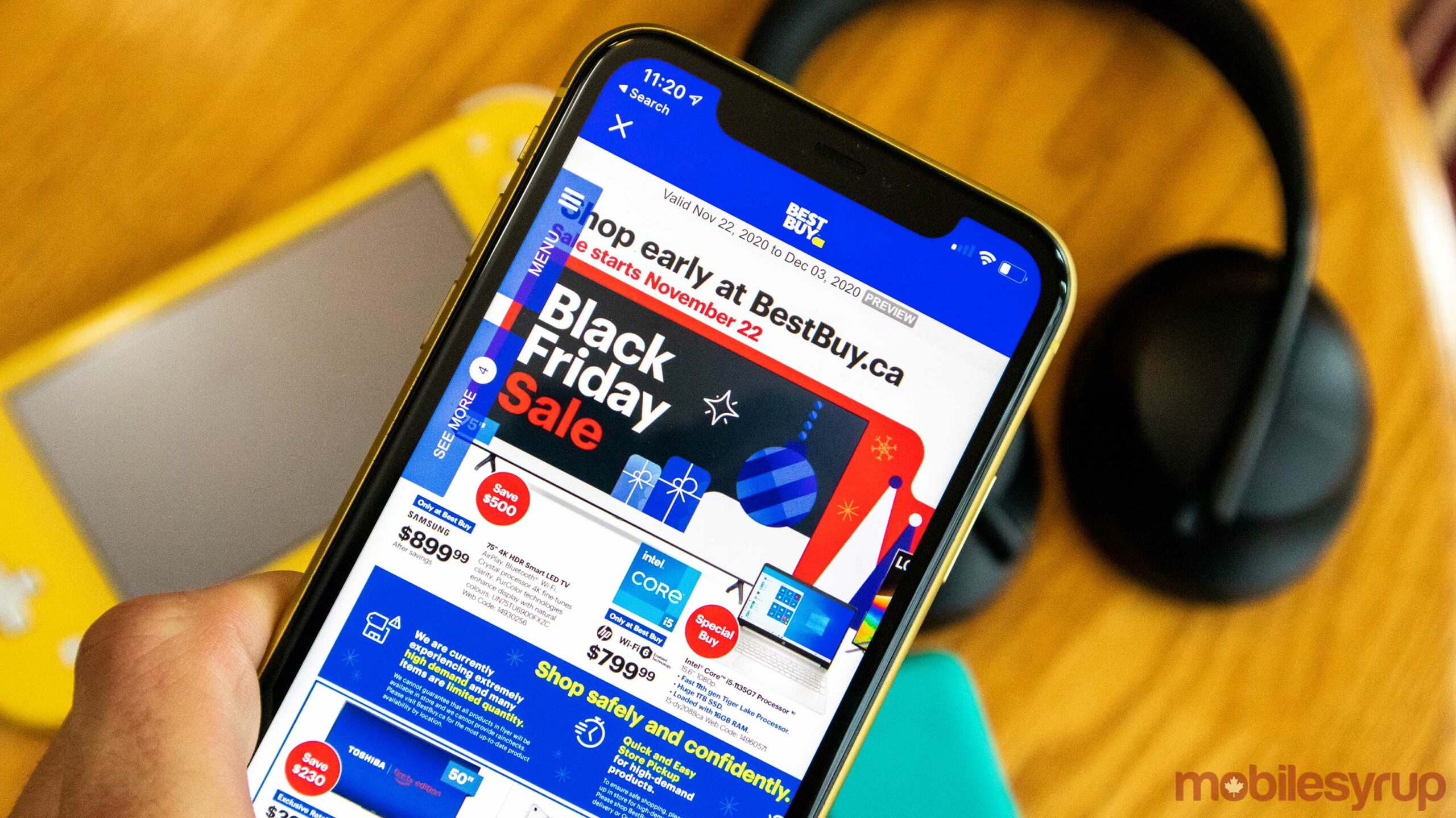 Your Pre Black Friday Mega List Of Best Buy Canada S Tech Deals Is Finally Here Mobilesyrup