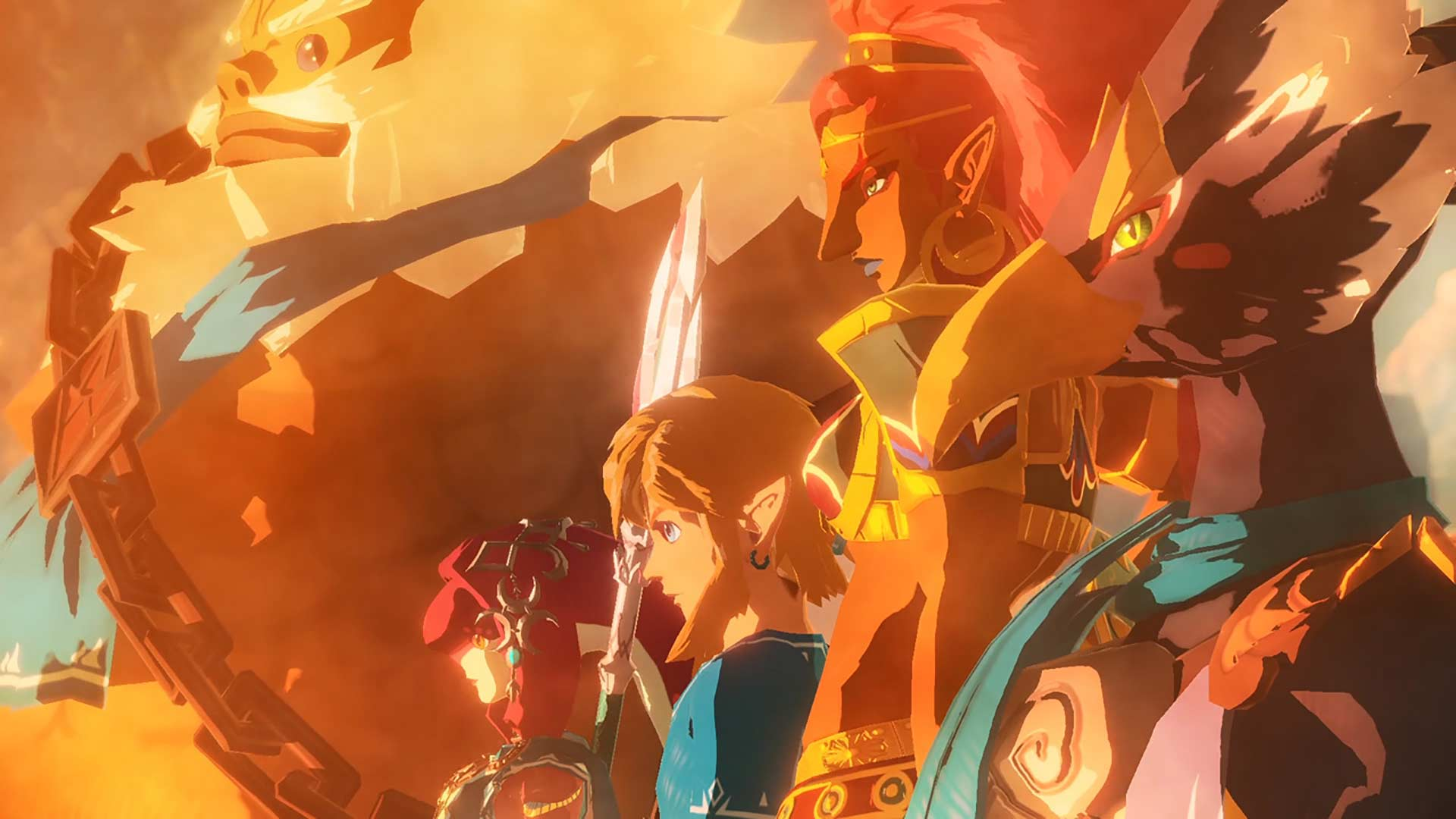 Hyrule Warriors: Age of Calamity Link and Champions