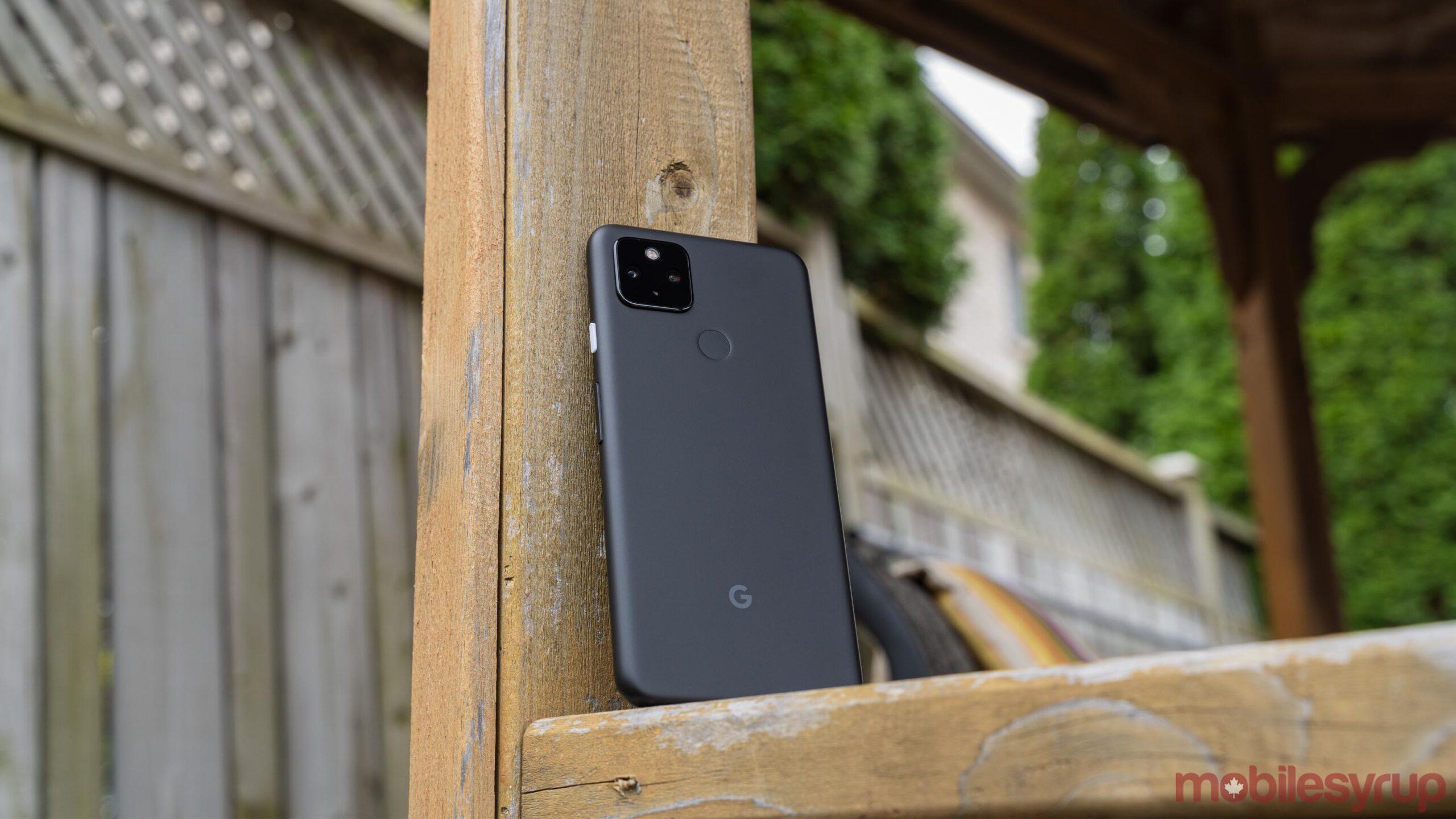 Pixel 4a 5G rear