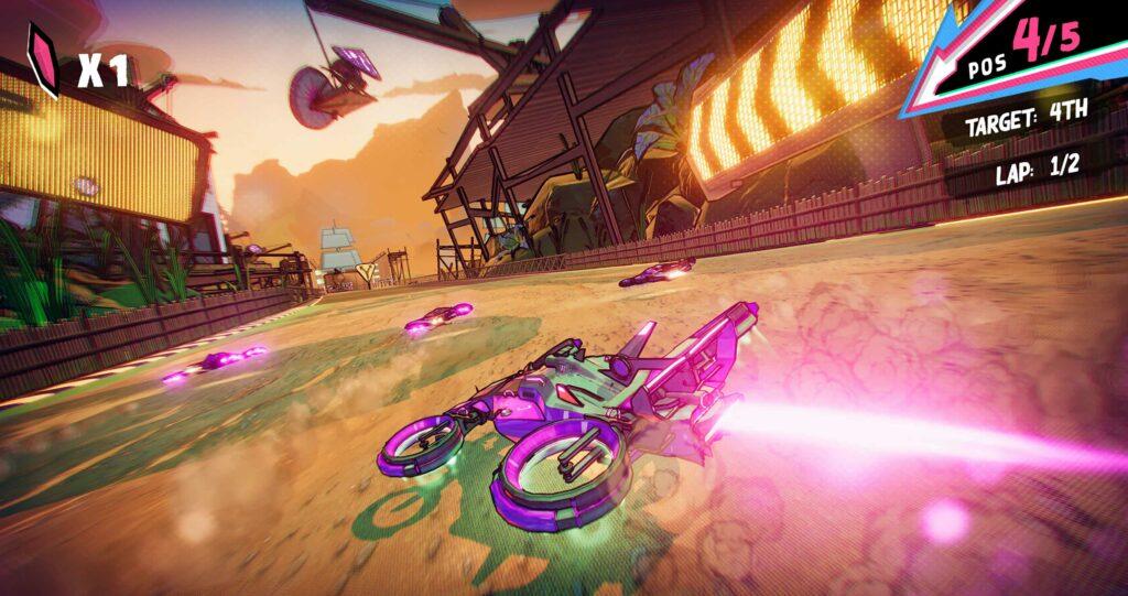Teleporting racing game 'Warp Drive' arrives on Apple Arcade