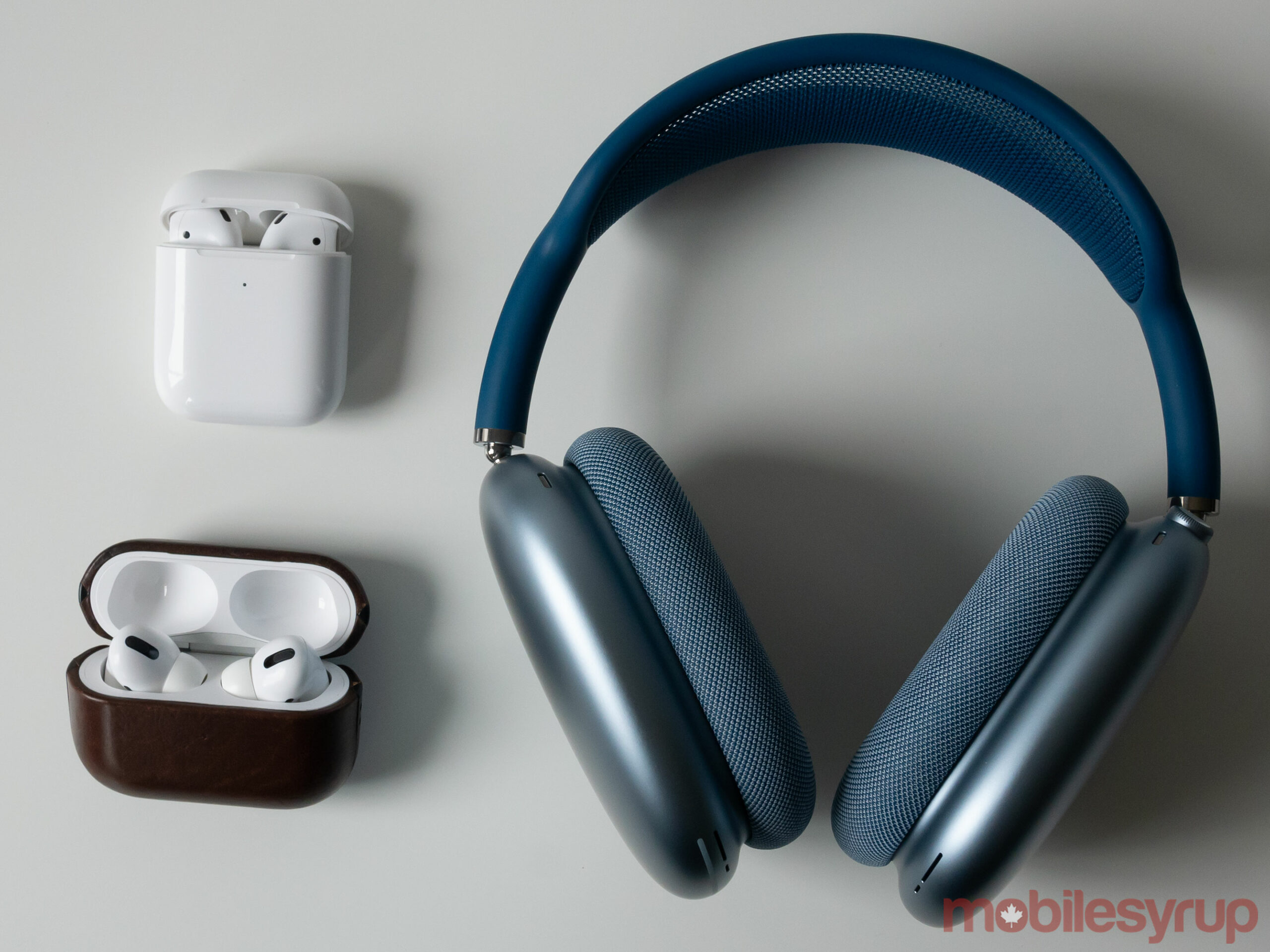 AirPods, AirPods Pro and AirPods Max