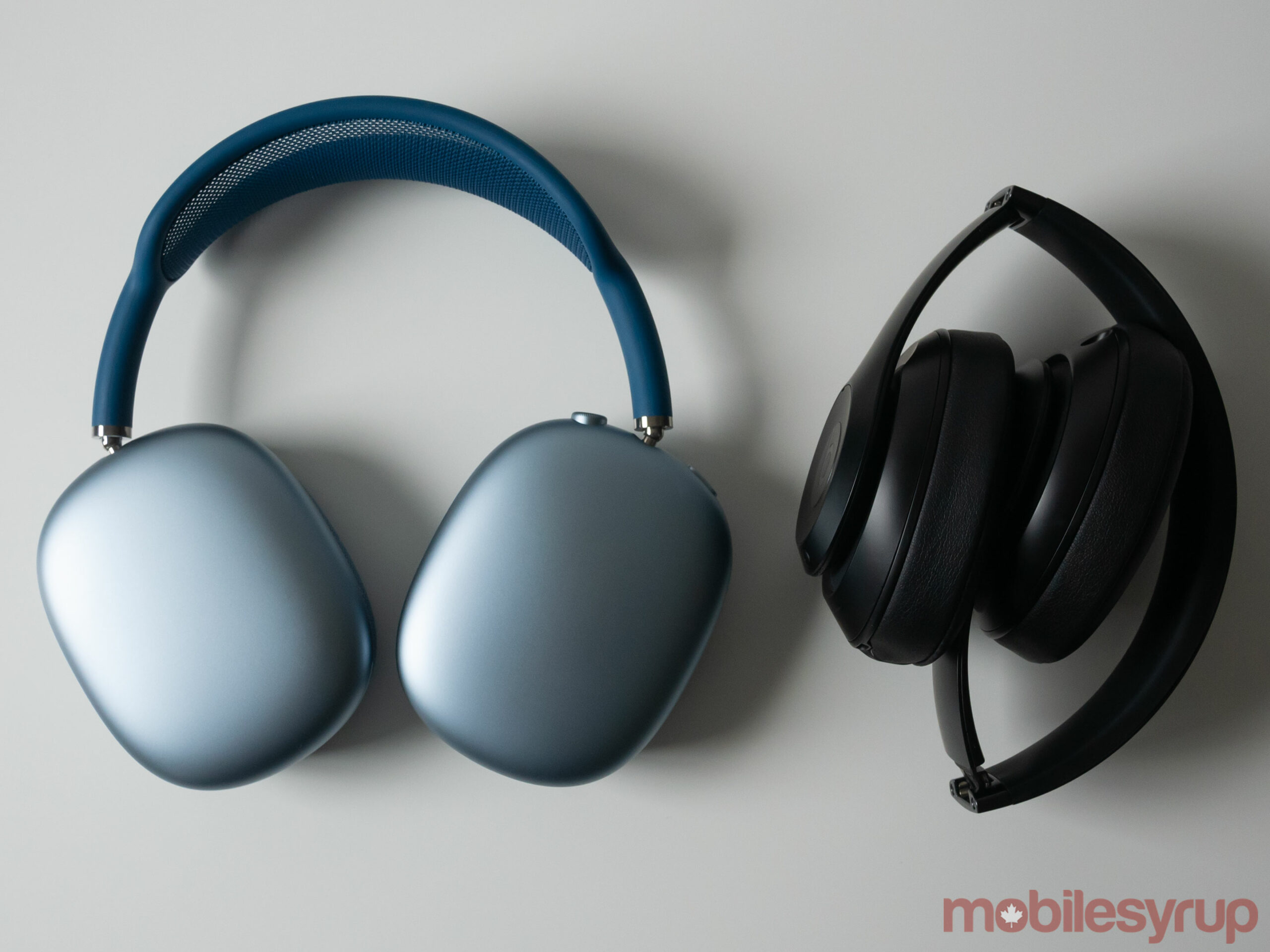 AirPods Max beside Beats Studio 3