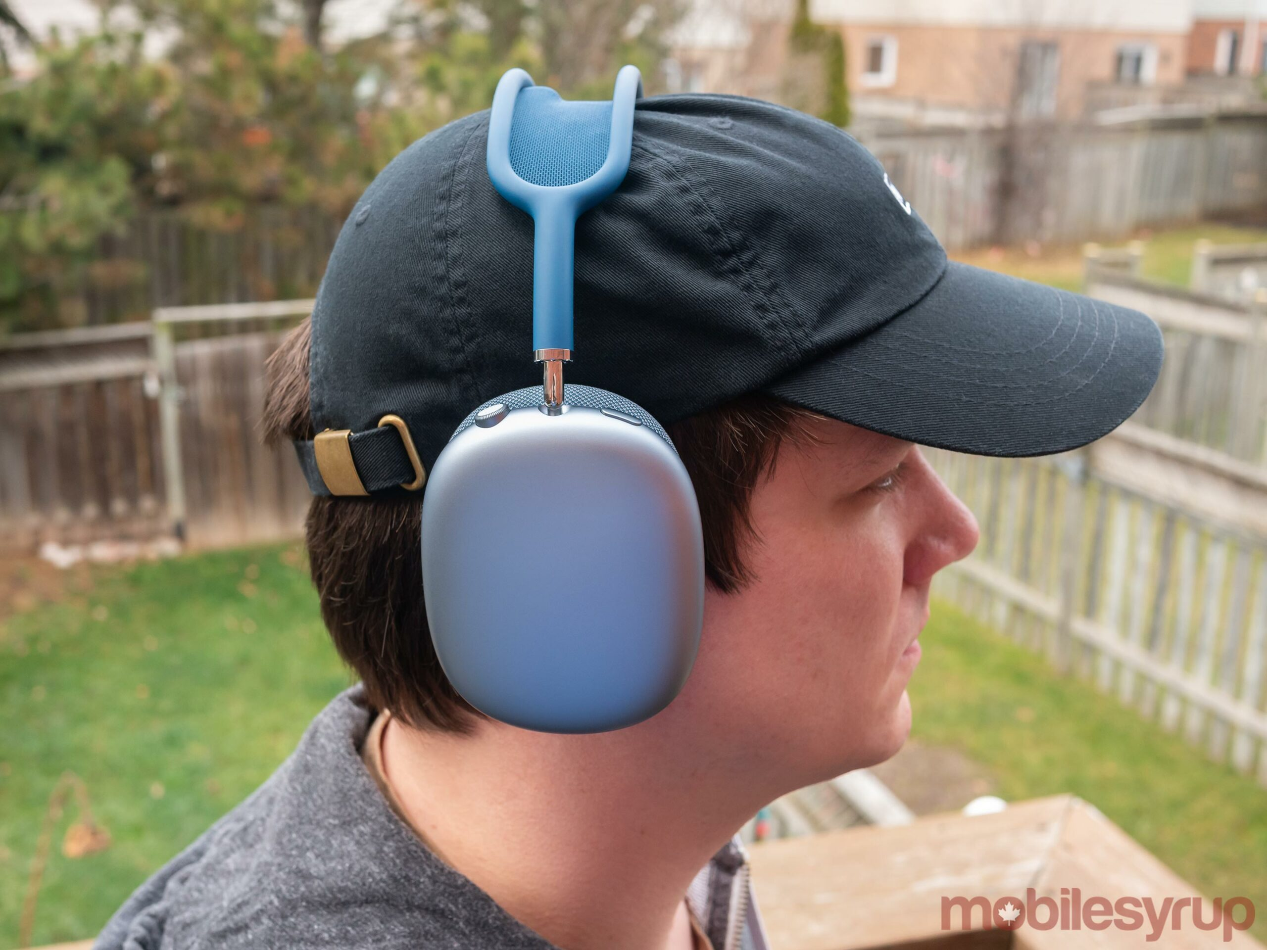 AirPods Max on head