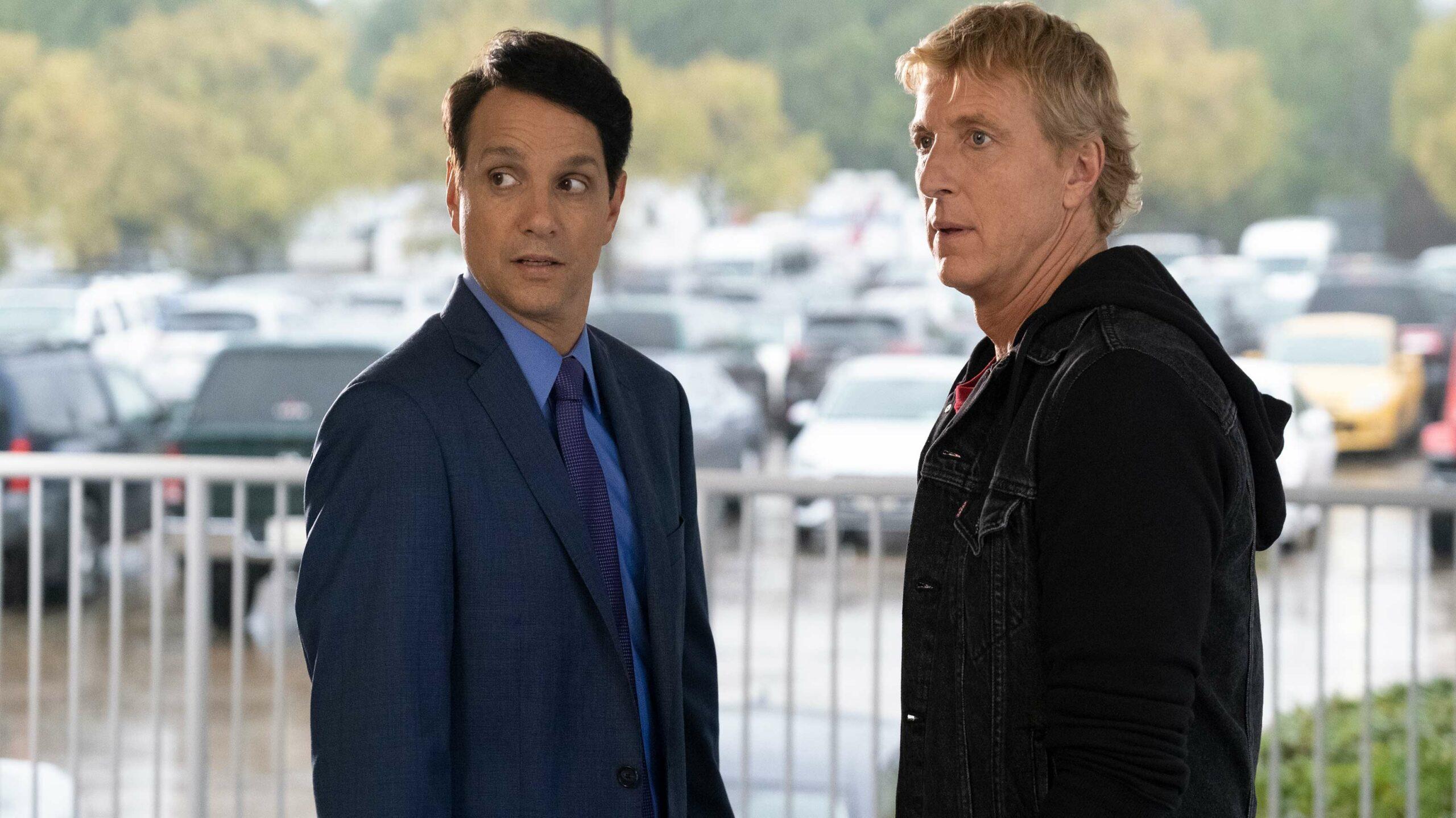 Cobra Kai Danny and Johnny