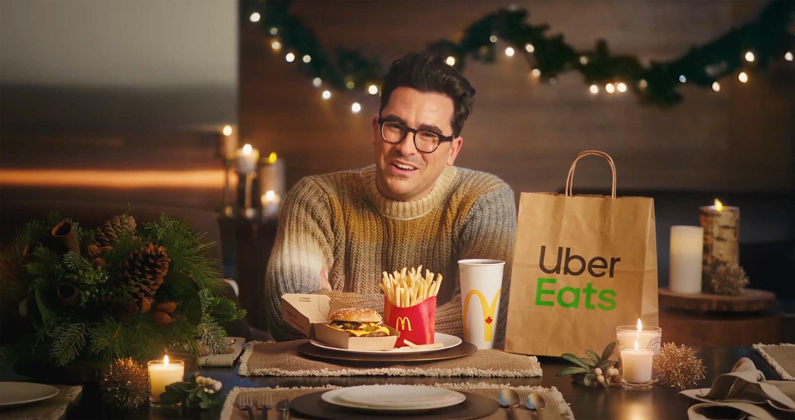 Dan Levy Uber Eats McDonalds
