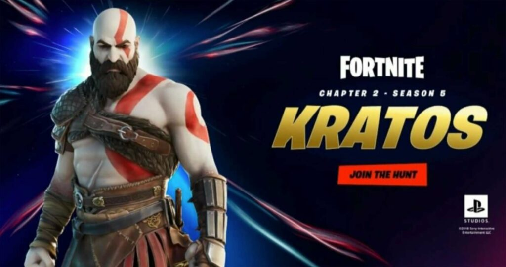 PlayStation Store leak points to God of War's Kratos coming to Fortnite
