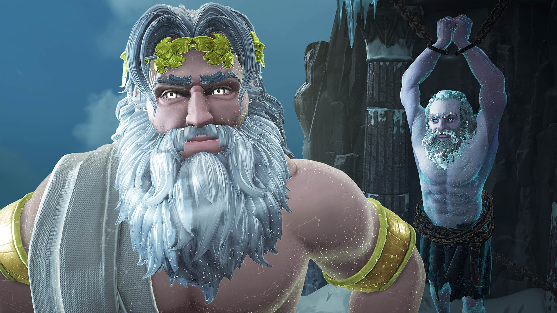 Immortals Fenyx Rising Zeus and Prometheus