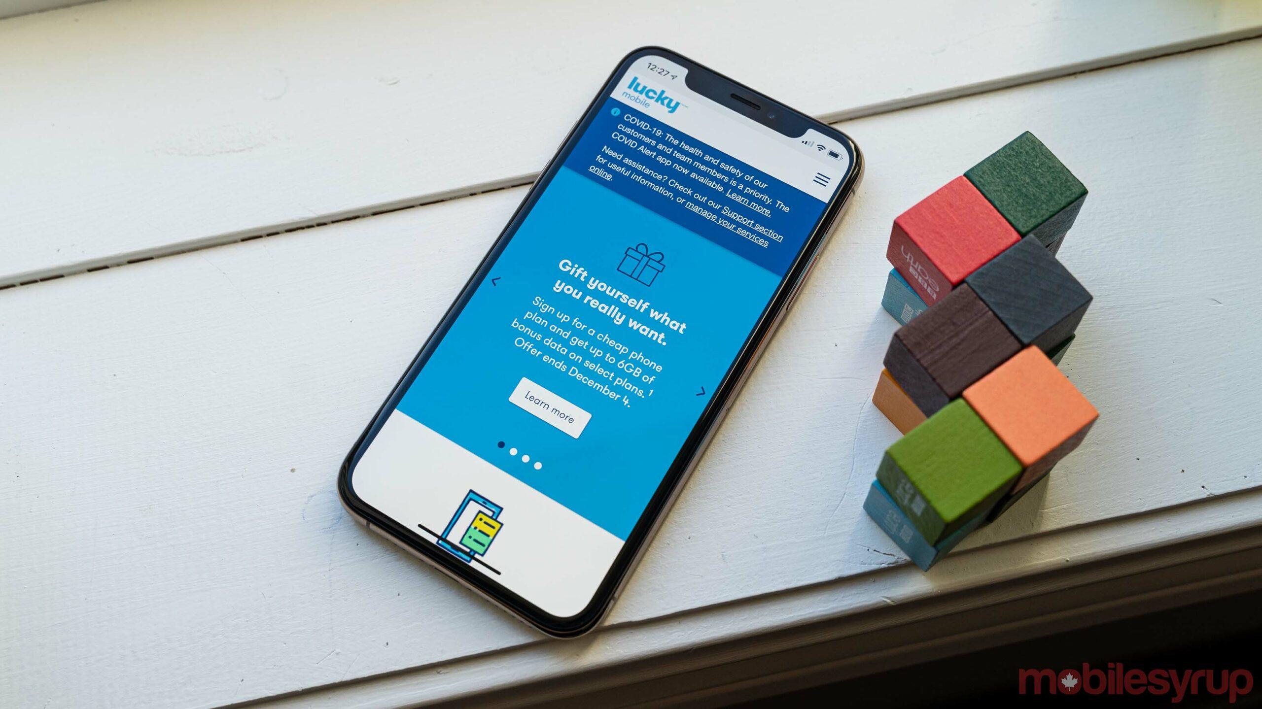 Lucky Mobile 6GB bonus data deal