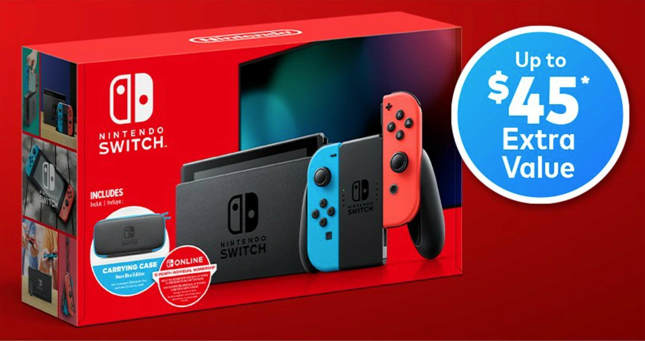 Nintendo Switch Walmart bundle