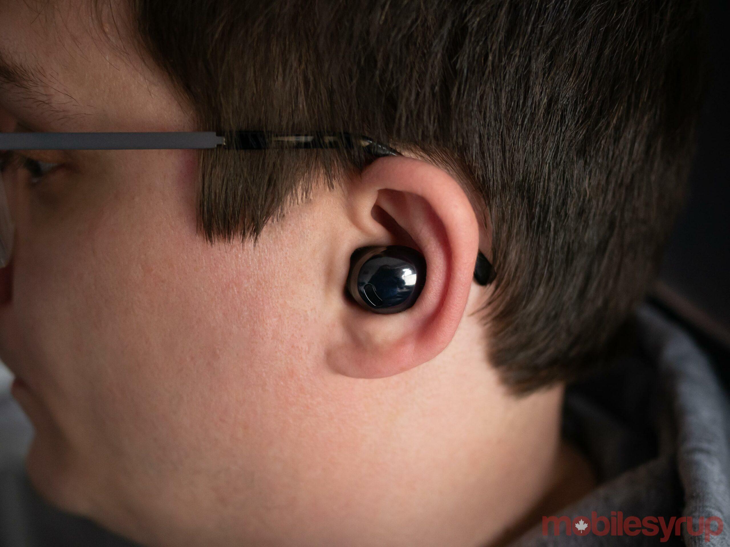 Galaxy Buds Pro in ear