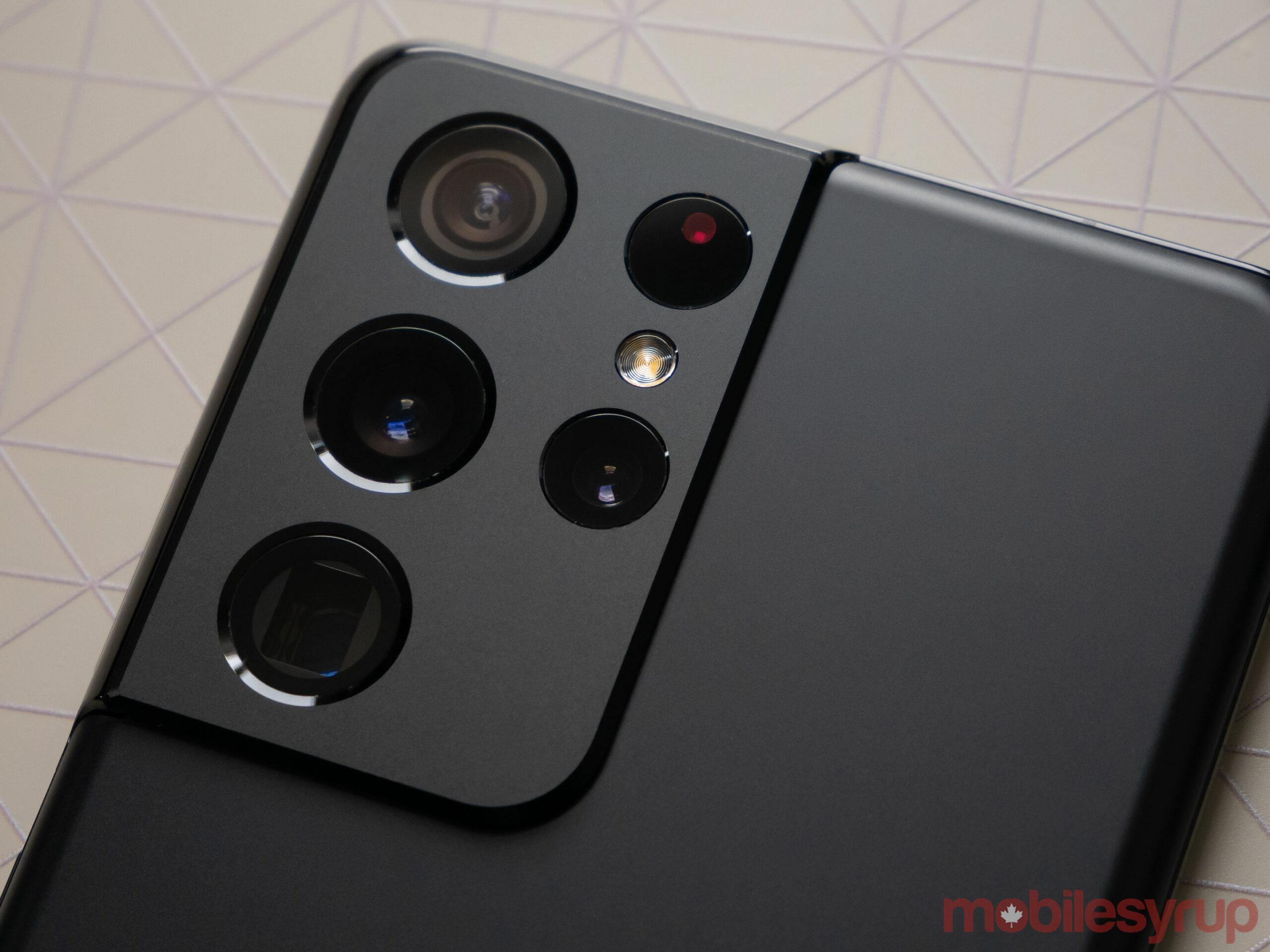 Galaxy S21 Ultra camera bump