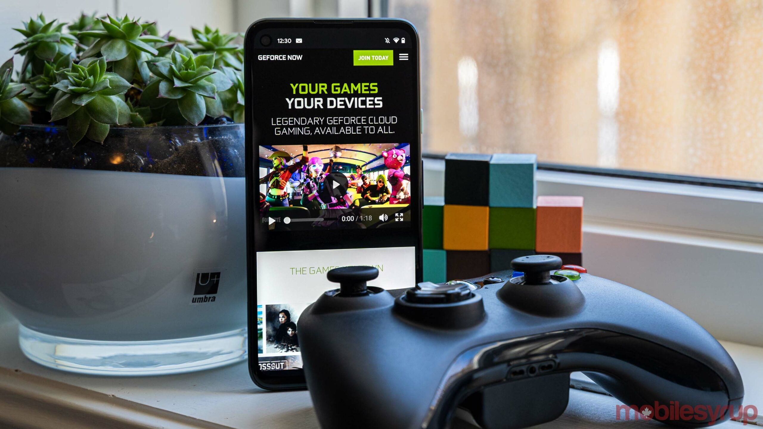 GeForce Now on Android