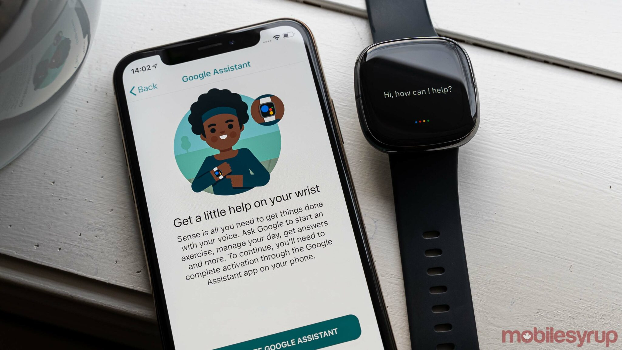 Here's how to activate Google Assistant on a Fitbit Sense or Versa 3