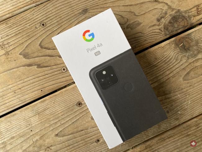 Contest: Win a Bell Google Pixel 4a 5G!